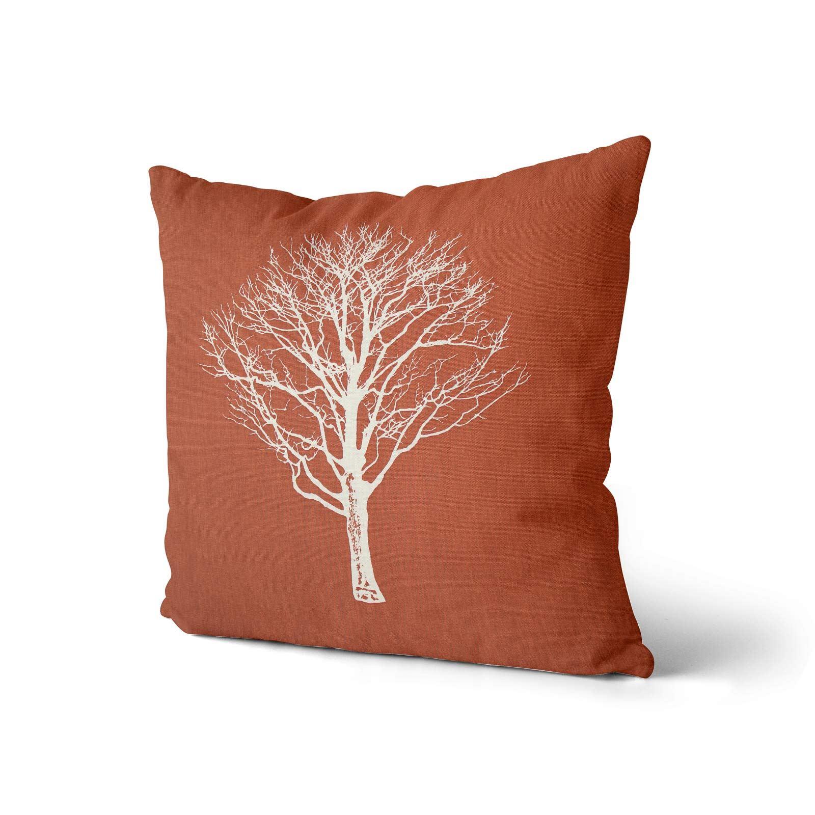 Woodland-Trees-Cushion-Cover-Modern-Reversible-Tree-Print-Covers-17-034-x-17-034 thumbnail 13