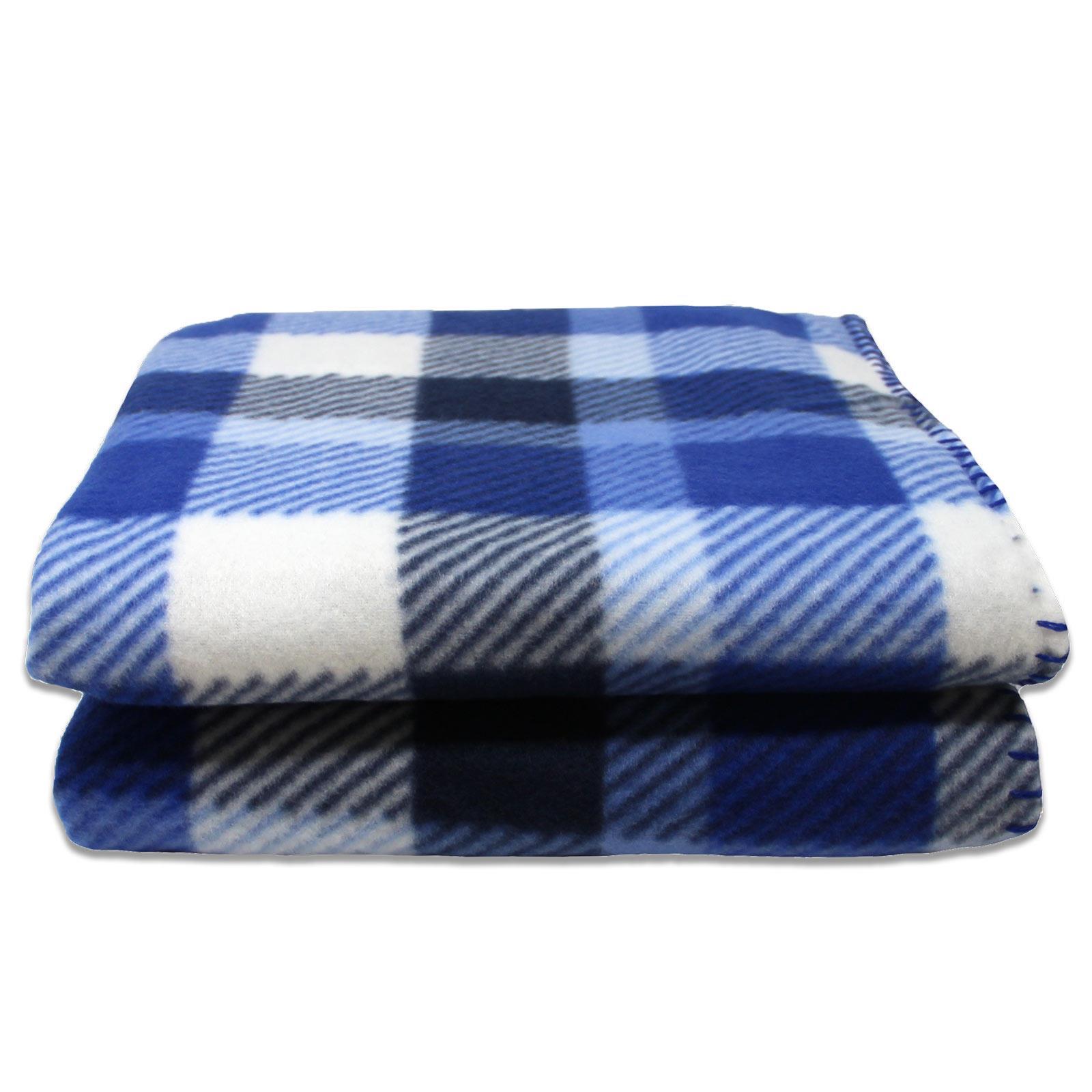 Sofa-de-verificacion-de-tartan-polar-mantas-polar-silla-acogedor-lanza-Manta-127cm-X-152cm miniatura 15