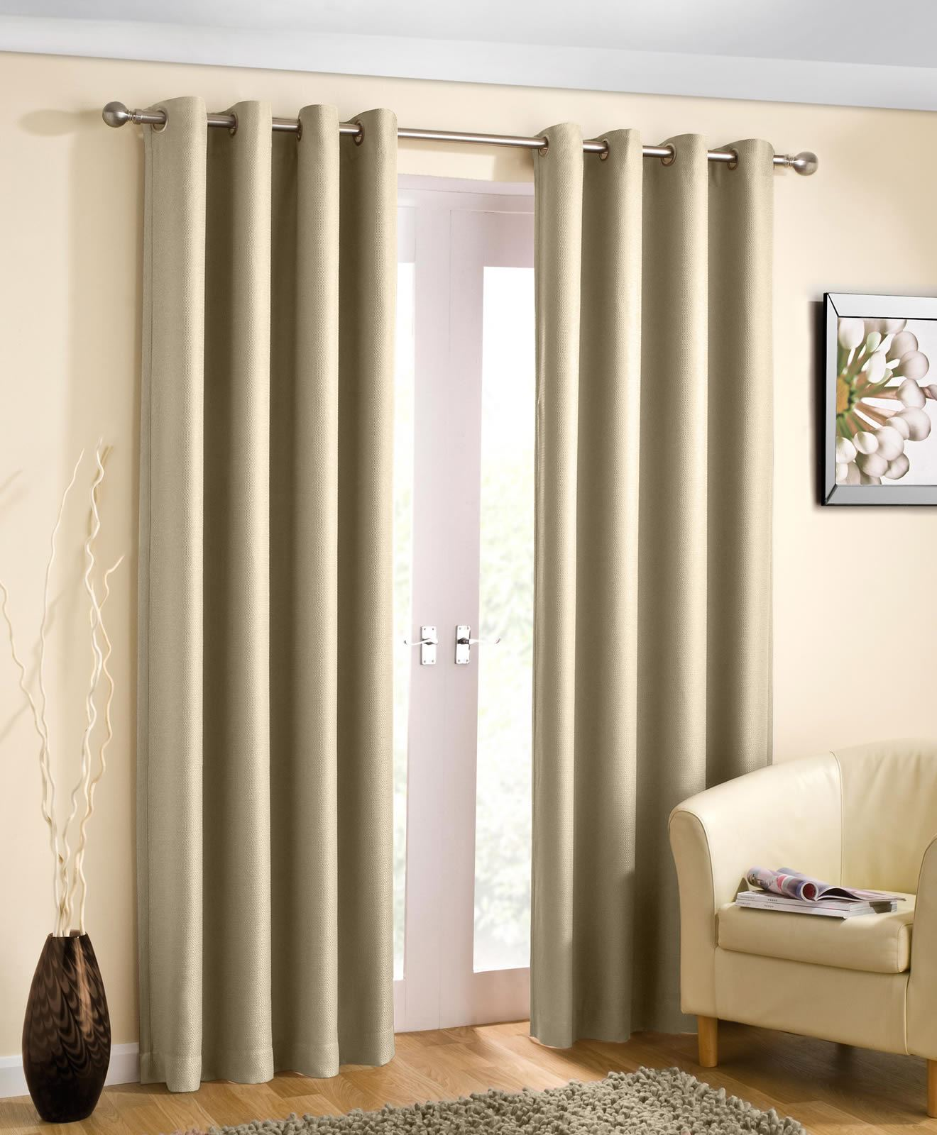 wetherby thermal lined block out eyelet curtains drapes. Black Bedroom Furniture Sets. Home Design Ideas