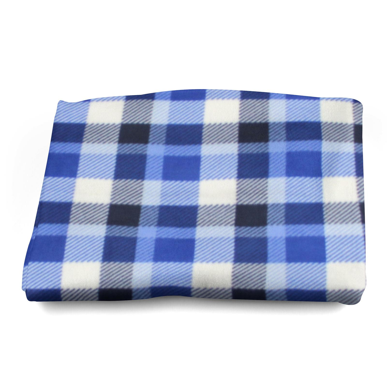 Sofa-de-verificacion-de-tartan-polar-mantas-polar-silla-acogedor-lanza-Manta-127cm-X-152cm miniatura 16