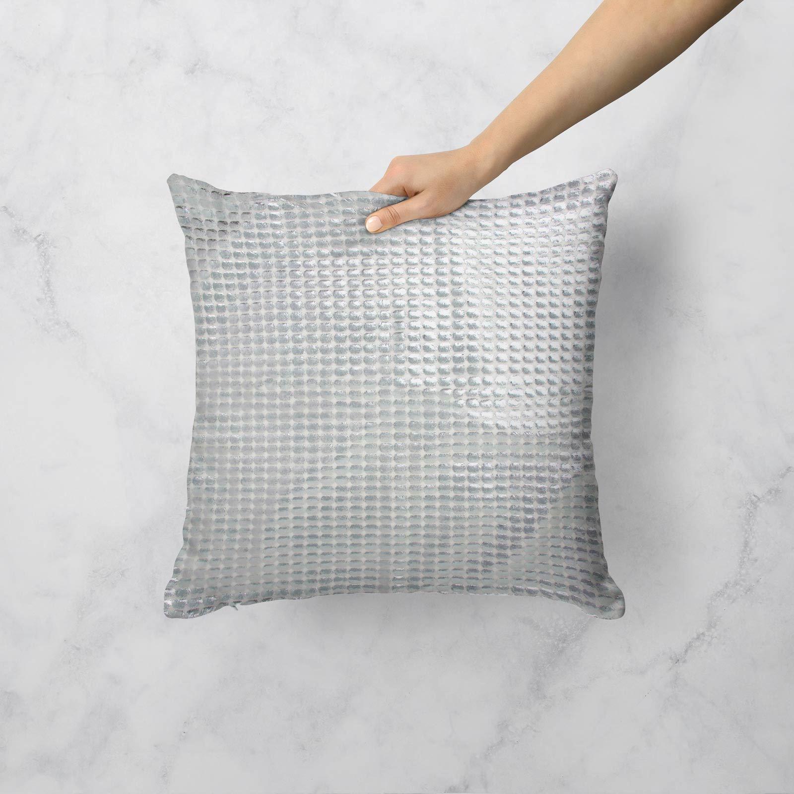 Impresion-de-lamina-metalica-Moderno-Funda-De-Cojin-Almohadon-cubiertas-de-cojines-18-034-X-18-034 miniatura 6