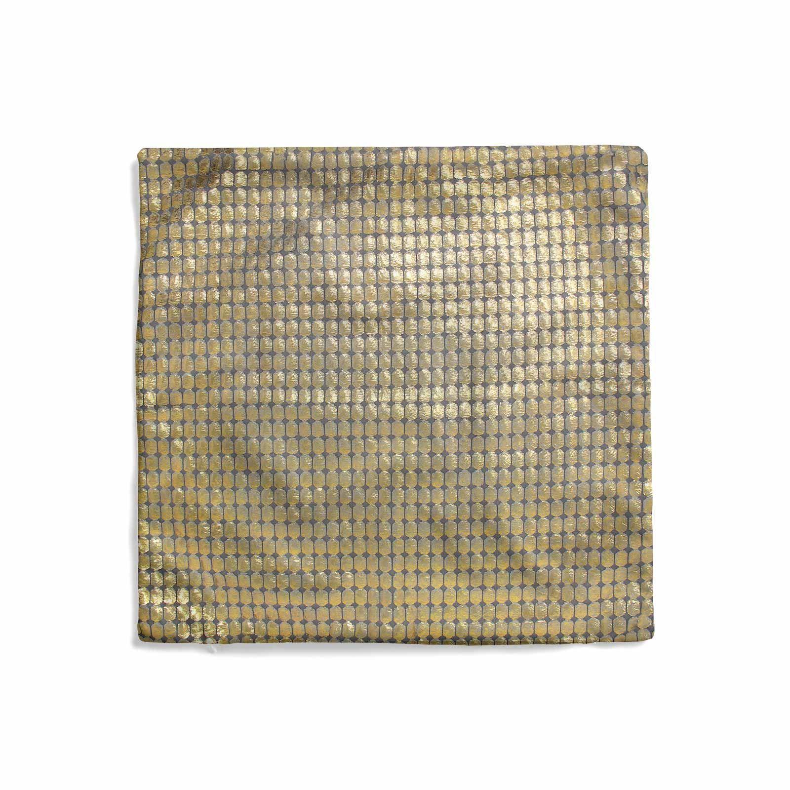 Impresion-de-lamina-metalica-Moderno-Funda-De-Cojin-Almohadon-cubiertas-de-cojines-18-034-X-18-034 miniatura 10