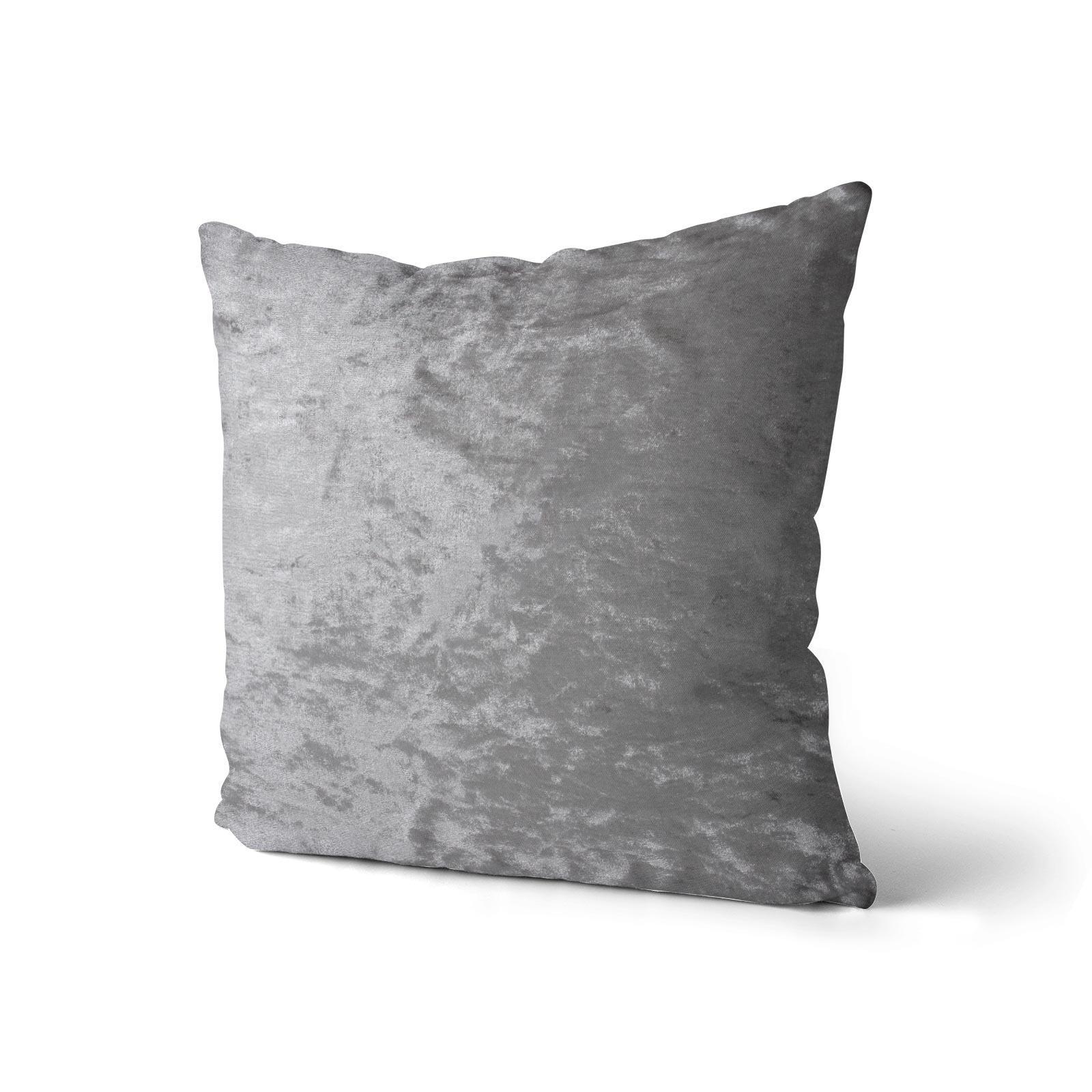 Cuscino-di-velluto-schiacciato-copre-GLAM-Tinta-Unita-Copricuscino-18-034-x-18-034-45cm-x-45cm miniatura 5
