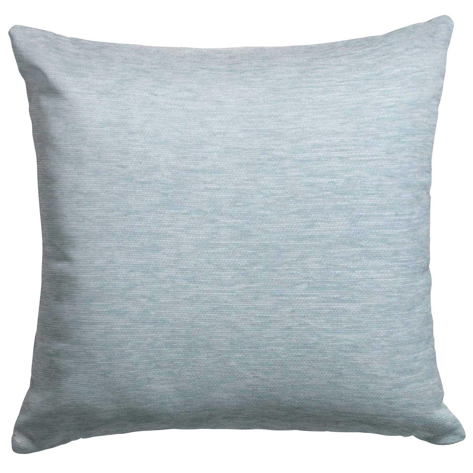 Set-of-2-Chenille-Cushion-Covers-Luxury-Plain-Cushions-Cover-Pairs-18-034-x-18-034 thumbnail 29