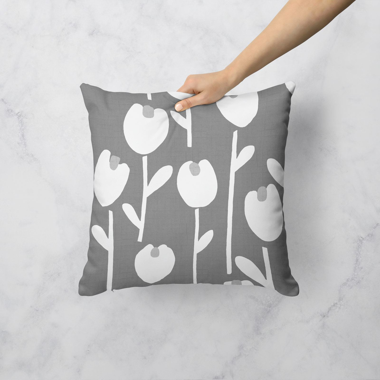 Grey-Ochre-Mustard-Cushion-Cover-Collection-17-034-18-034-Covers-Filled-Cushions thumbnail 6