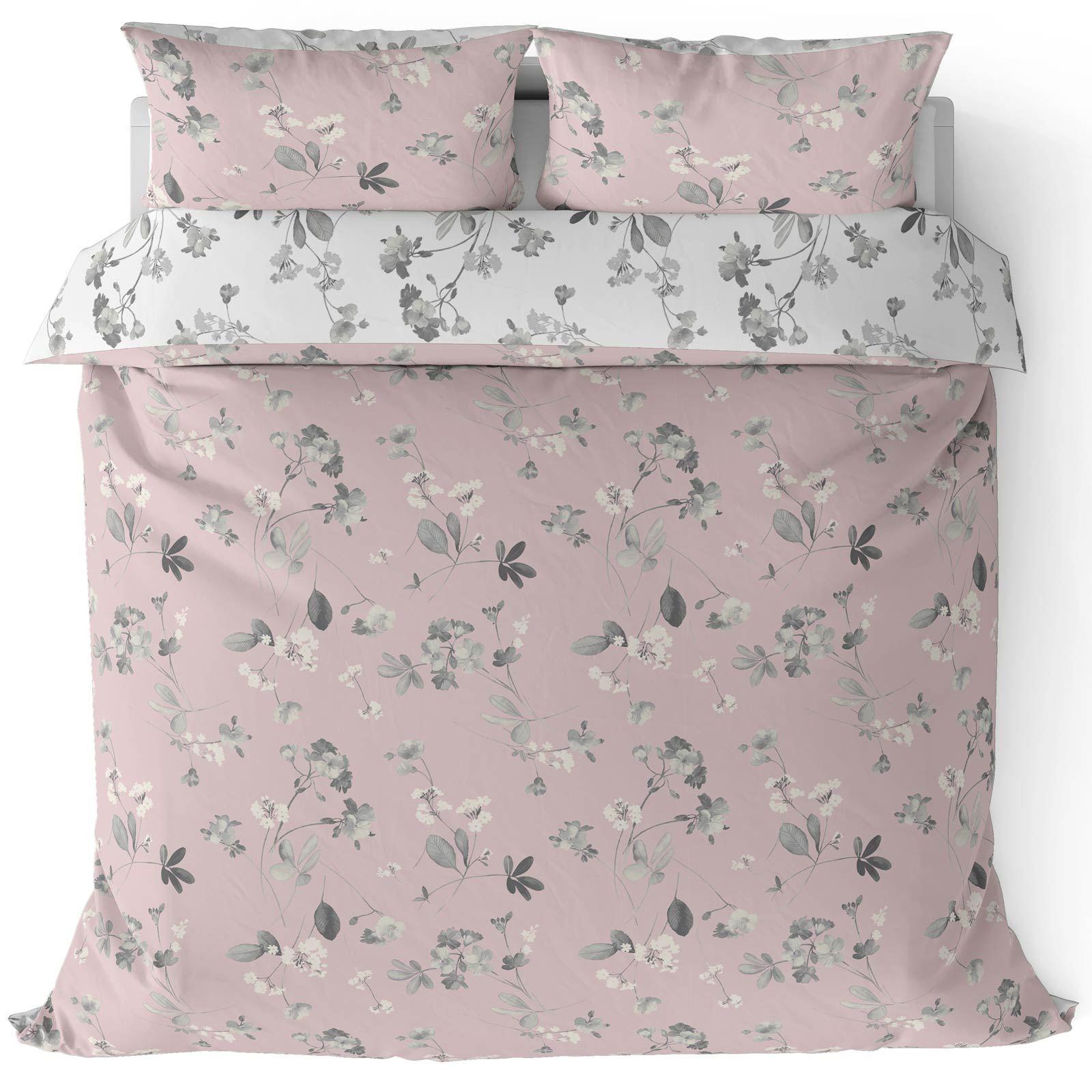Cubierta-Edredon-Rosa-Blush-Rose-Impreso-juego-De-Edredon-Conjuntos-de-Cama-cubre-Jacquard miniatura 40