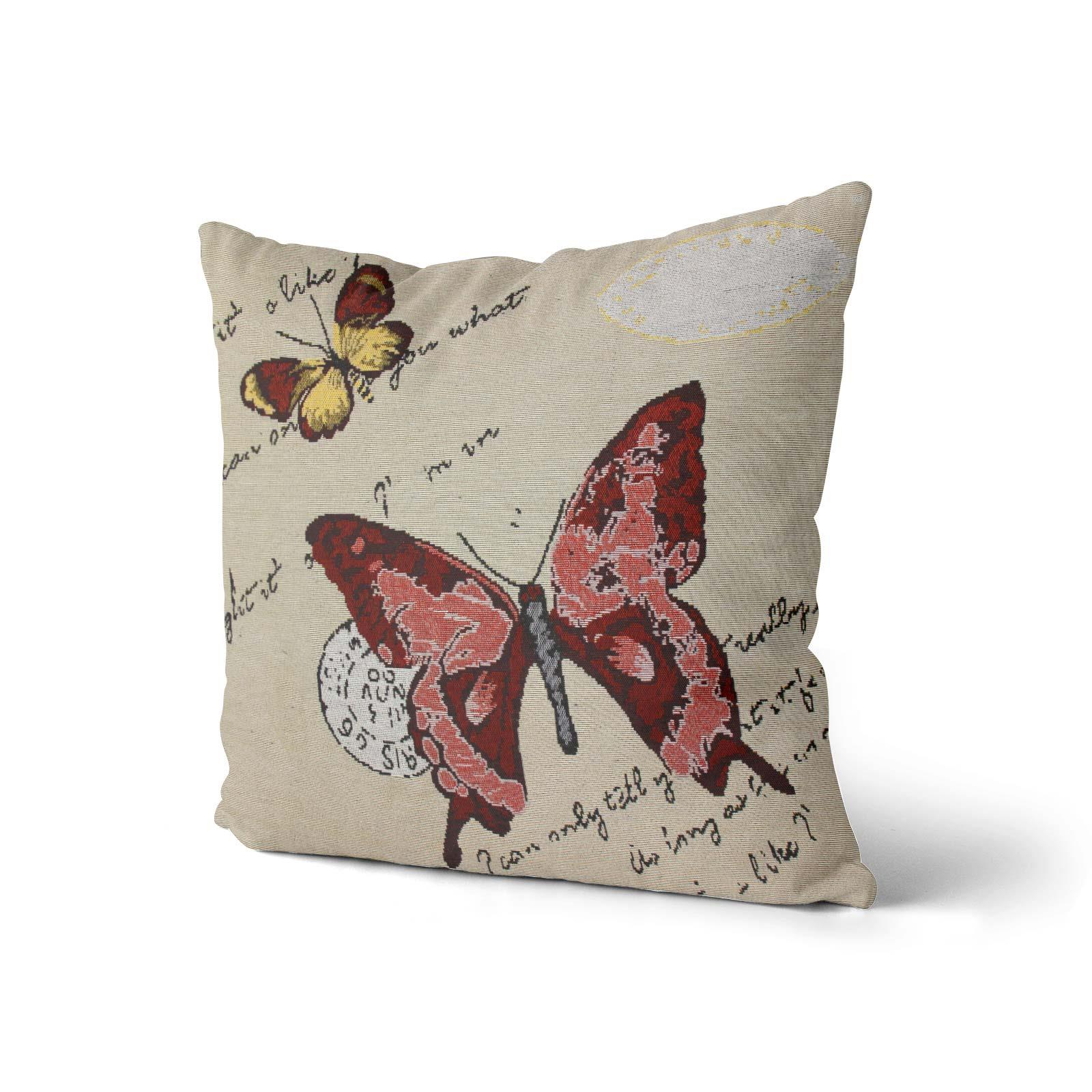 Tapestry-Cushion-Covers-Vintage-Pillow-Cover-Collection-18-034-45cm-Filled-Cushions thumbnail 14