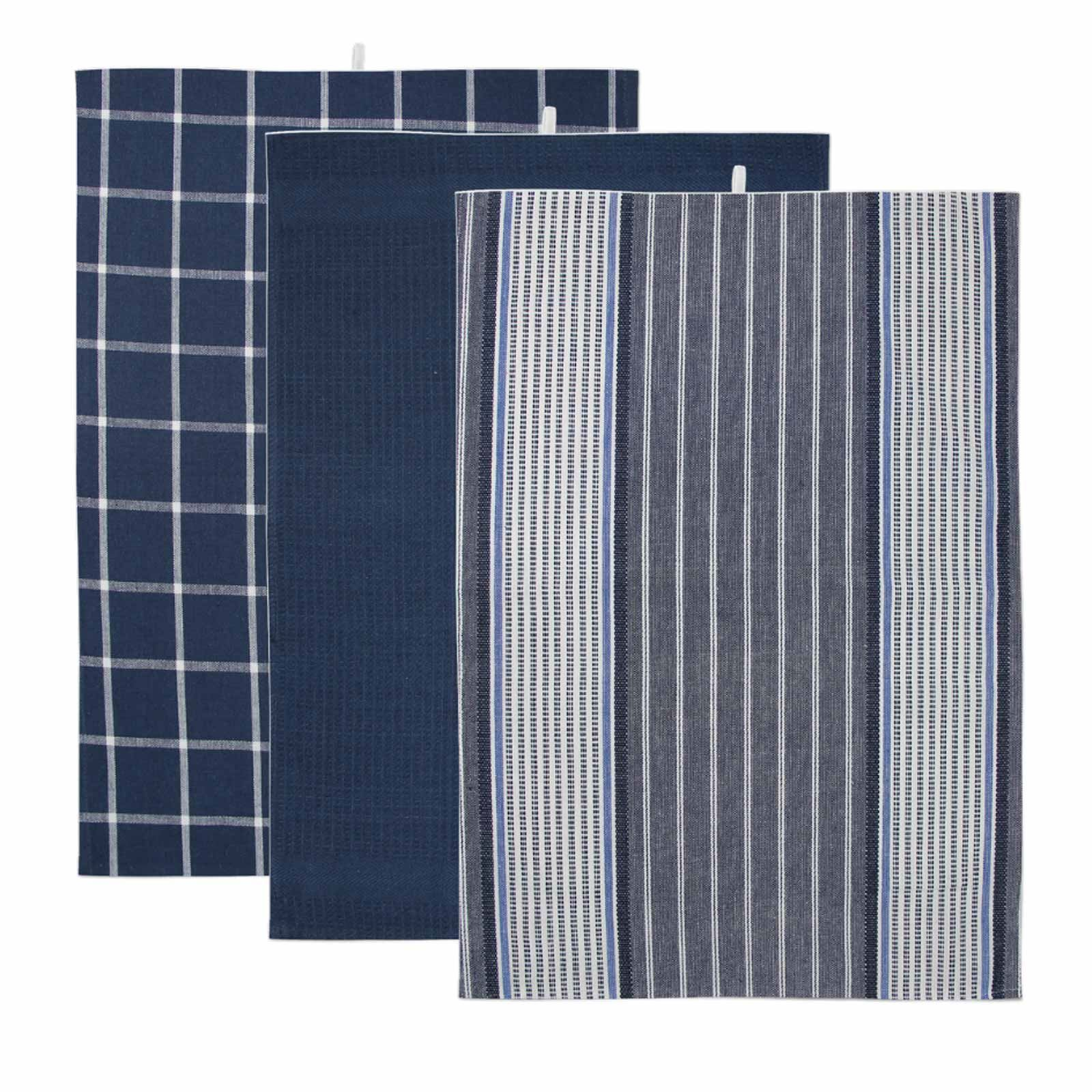 Pack-of-3-Tea-Towels-100-Cotton-Kitchen-Dish-Towel-Drying-Set thumbnail 33