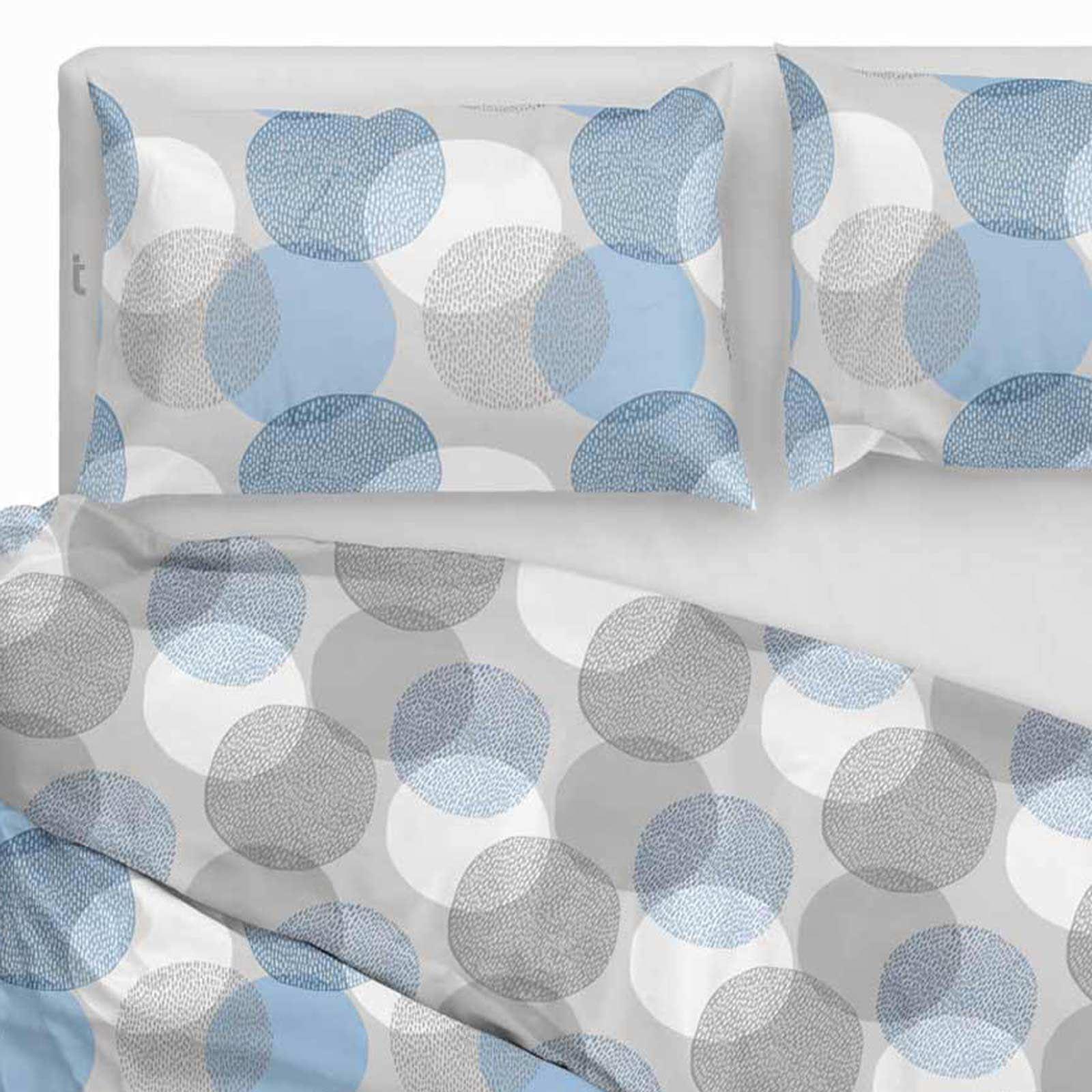 Funda-nordica-azul-azul-marino-verde-azulado-edredon-algodon-estampado-juego-conjuntos-de-cama-cubre miniatura 4