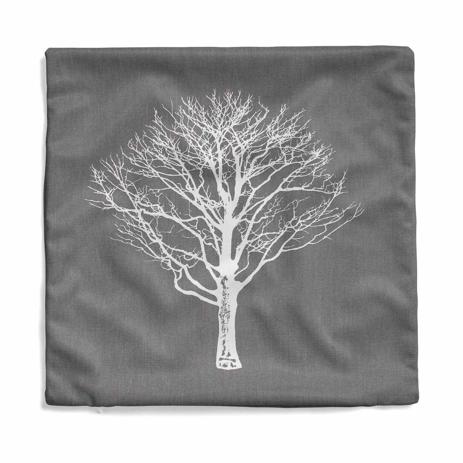 Woodland-Trees-Cushion-Cover-Modern-Reversible-Tree-Print-Covers-17-034-x-17-034 thumbnail 5
