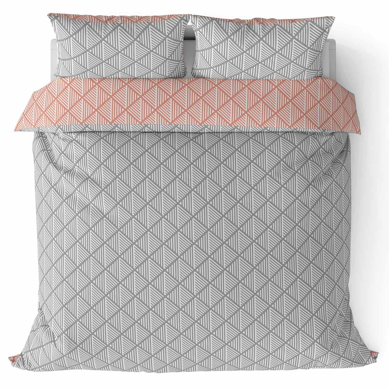 Grigio-Argento-Copripiumino-Stampato-Jacquard-Quilt-Set-Set-di-biancheria-da-letto-copre miniatura 26