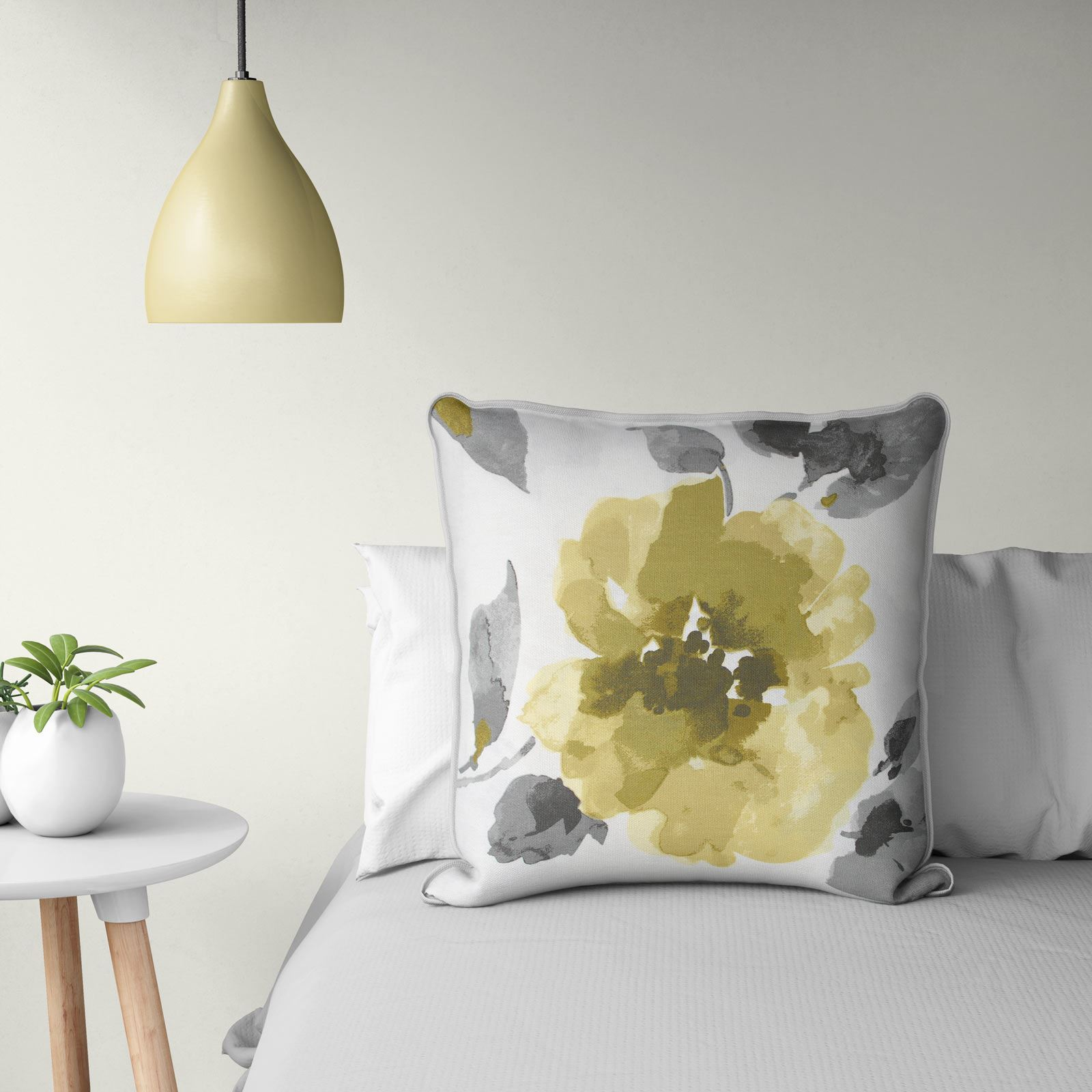 Grey-Ochre-Mustard-Cushion-Cover-Collection-17-034-18-034-Covers-Filled-Cushions thumbnail 19