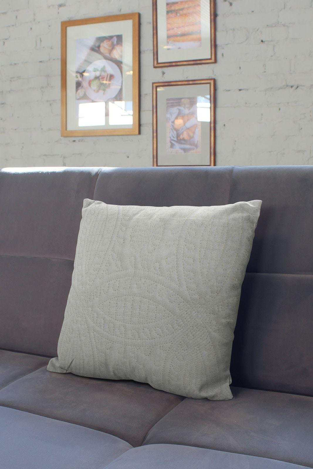 Crema-Color-Foglia-Di-Te-Blu-Uovo-D-039-anatra-Cuscino-Copre-18-034-x-18-034-45-CM-x-45-cm-COVER miniatura 31