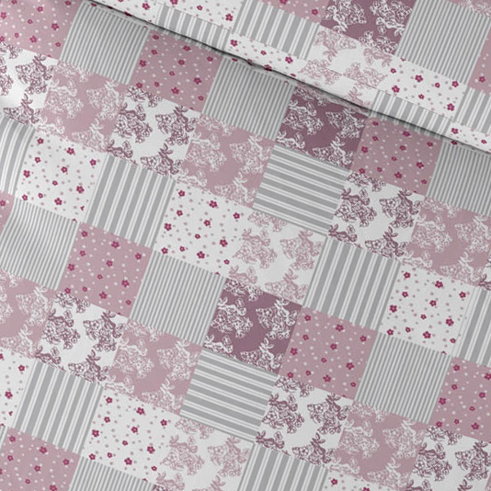 Cubierta-Edredon-Rosa-Blush-Rose-Impreso-juego-De-Edredon-Conjuntos-de-Cama-cubre-Jacquard miniatura 12