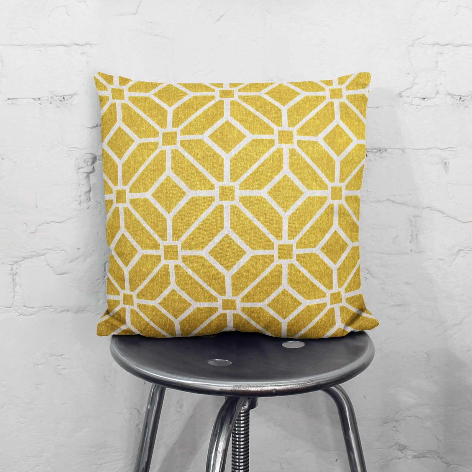 Grey-Ochre-Mustard-Cushion-Cover-Collection-17-034-18-034-Covers-Filled-Cushions thumbnail 97
