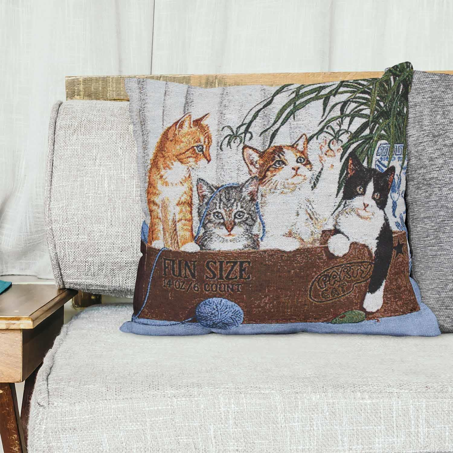 Tapestry-Cushion-Covers-Vintage-Pillow-Cover-Collection-18-034-45cm-Filled-Cushions thumbnail 101