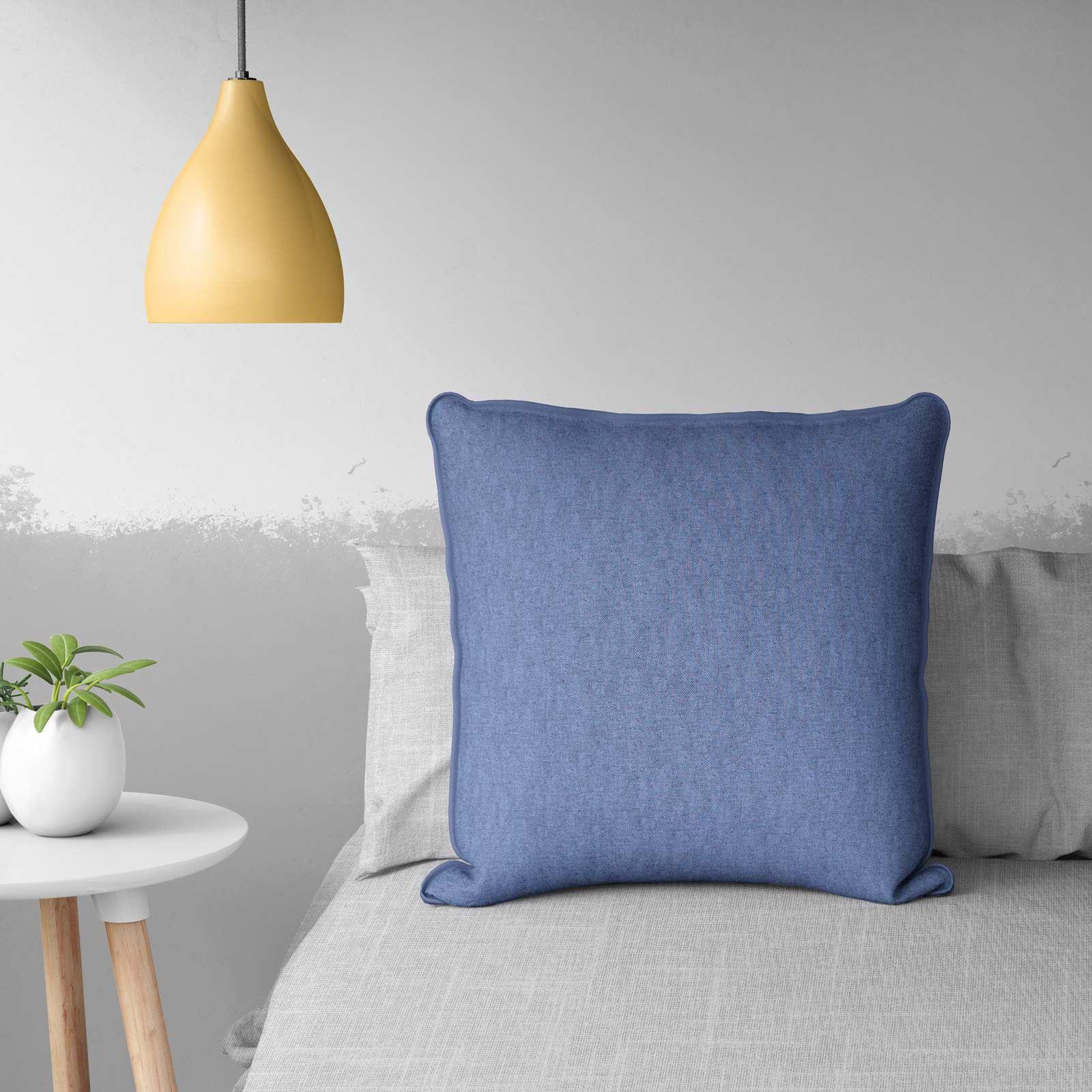 Crema-Color-Foglia-Di-Te-Blu-Uovo-D-039-anatra-Cuscino-Copre-18-034-x-18-034-45-CM-x-45-cm-COVER miniatura 51