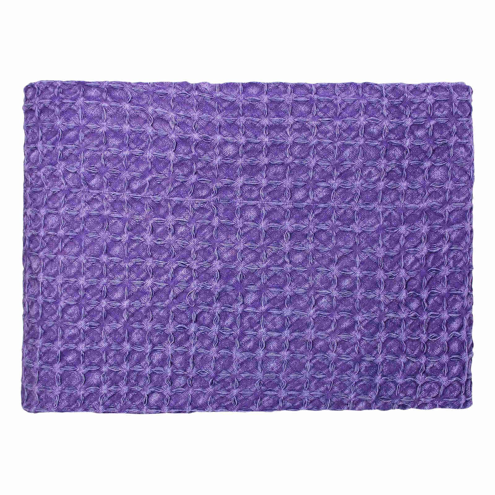 Oregon-Stonewash-Waffle-Throw-Modern-Distressed-Sofa-Bed-Blankets-100-Cotton thumbnail 25