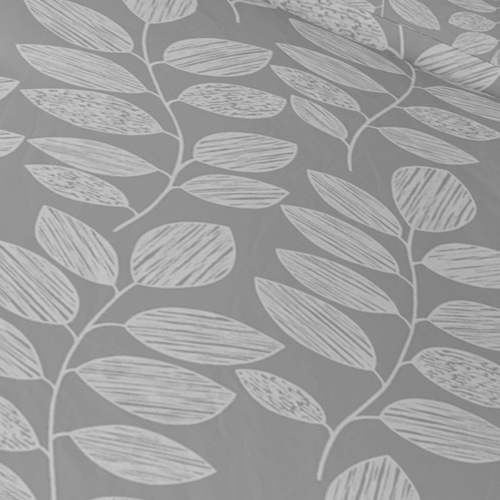 Grigio-Argento-Copripiumino-Stampato-Jacquard-Quilt-Set-Set-di-biancheria-da-letto-copre miniatura 14