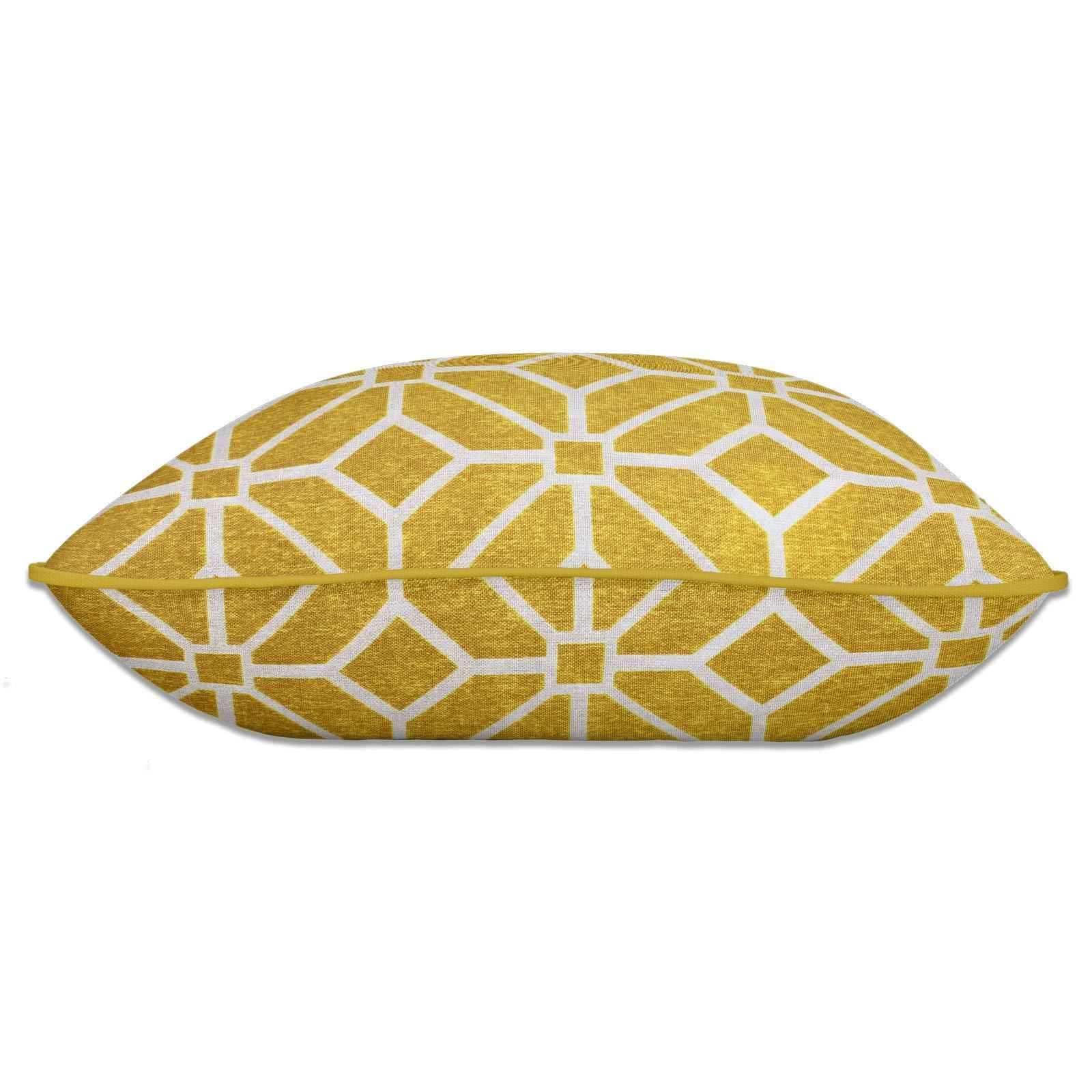 Grey-Ochre-Mustard-Cushion-Cover-Collection-17-034-18-034-Covers-Filled-Cushions thumbnail 93