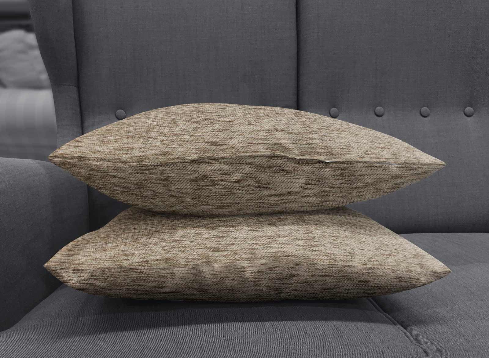 Set-of-2-Chenille-Cushion-Covers-Luxury-Plain-Cushions-Cover-Pairs-18-034-x-18-034 thumbnail 42