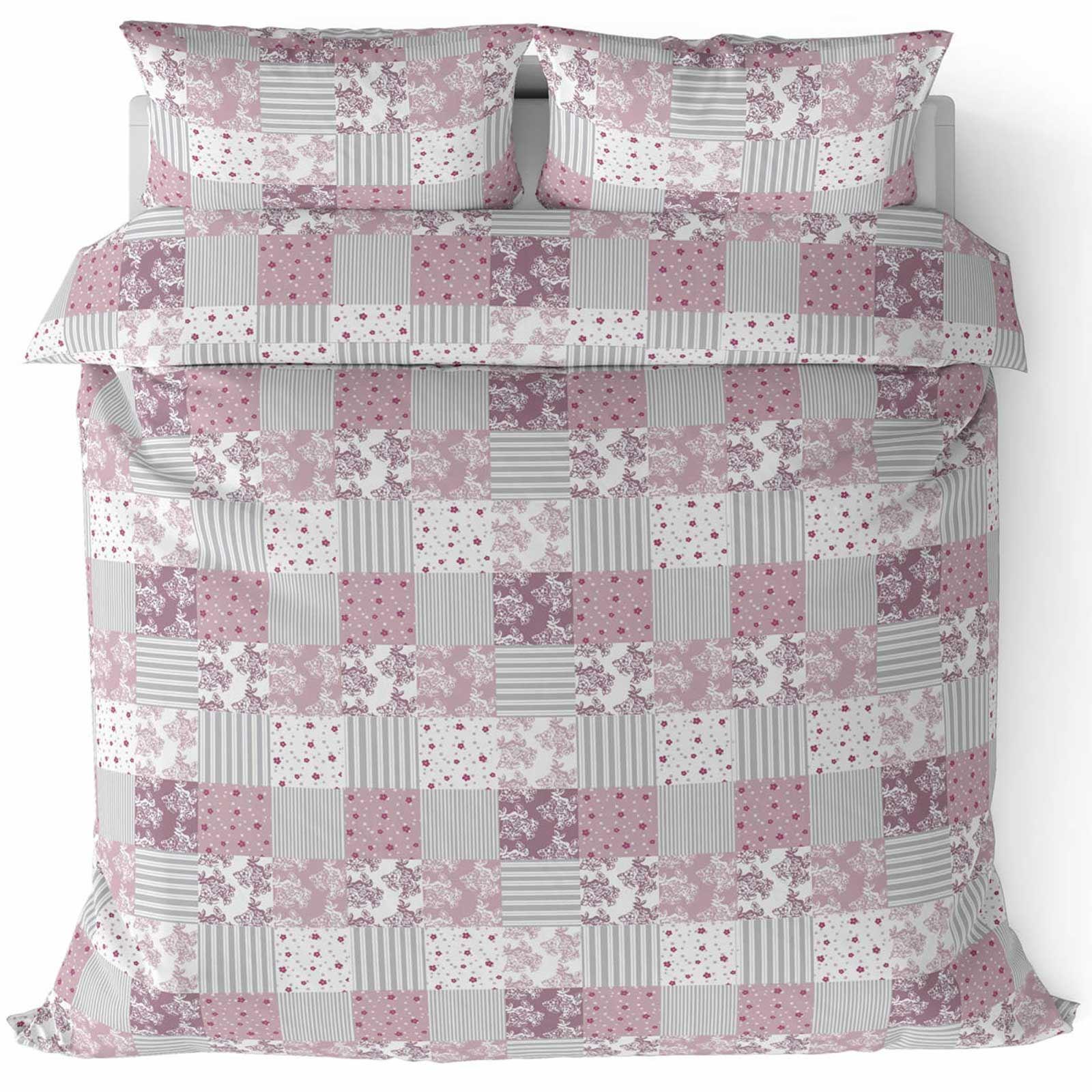 Cubierta-Edredon-Rosa-Blush-Rose-Impreso-juego-De-Edredon-Conjuntos-de-Cama-cubre-Jacquard miniatura 13