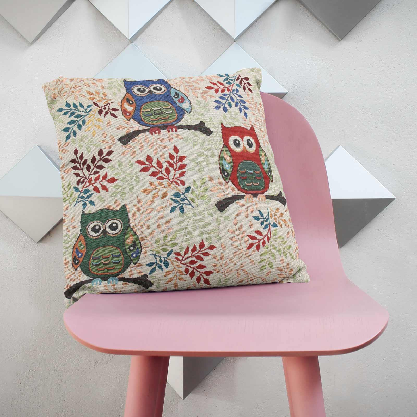 Tapestry-Cushion-Covers-Vintage-Pillow-Cover-Collection-18-034-45cm-Filled-Cushions thumbnail 208