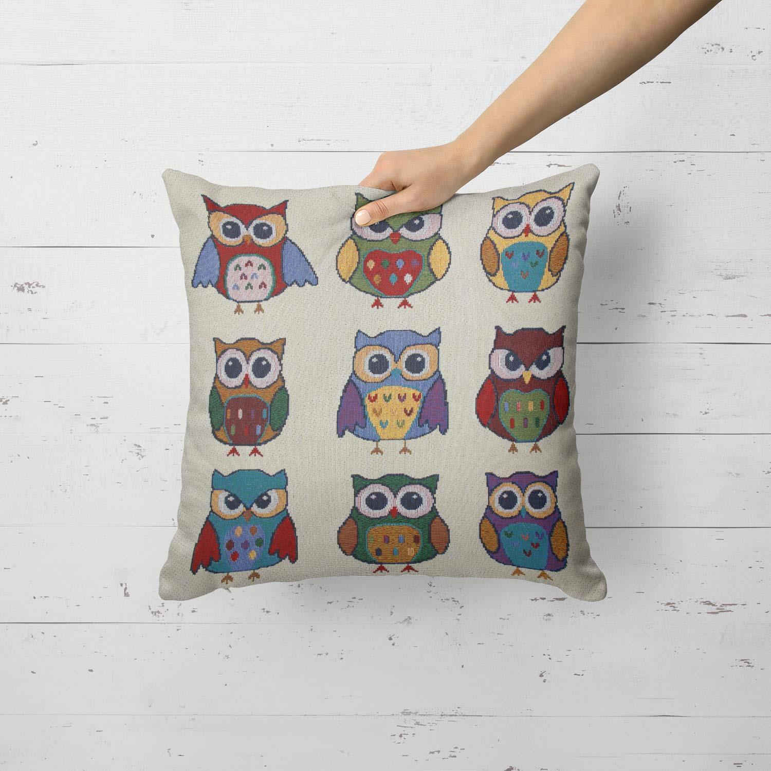 Tapestry-Cushion-Covers-Vintage-Pillow-Cover-Collection-18-034-45cm-Filled-Cushions thumbnail 161