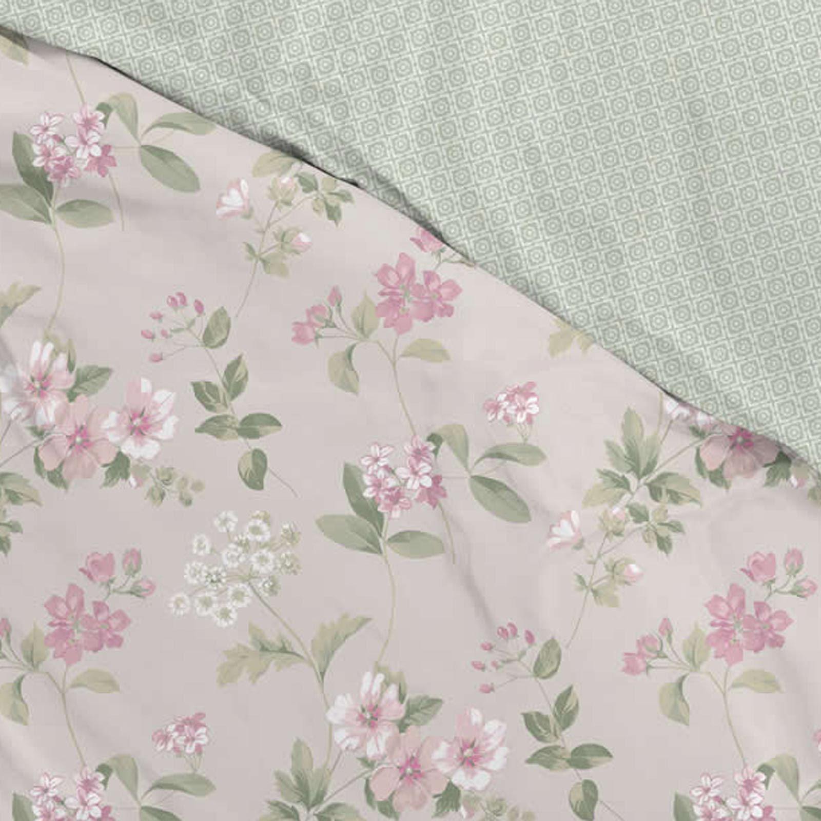 Floral-Fundas-nordicas-Lorena-Vintage-Estampado-De-Flores-conjuntos-de-ropa-de-cama-de-edredon-de miniatura 4