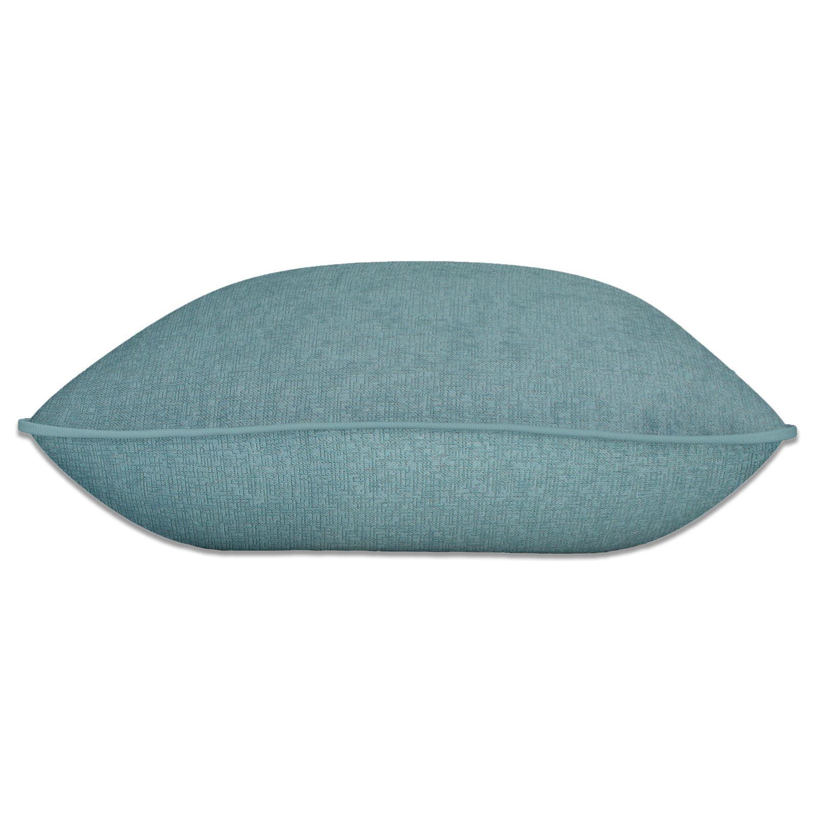 Teal-Blue-Duck-Egg-Cushion-Covers-18-034-x18-034-45cm-x-45cm-Luxury-Cover thumbnail 9
