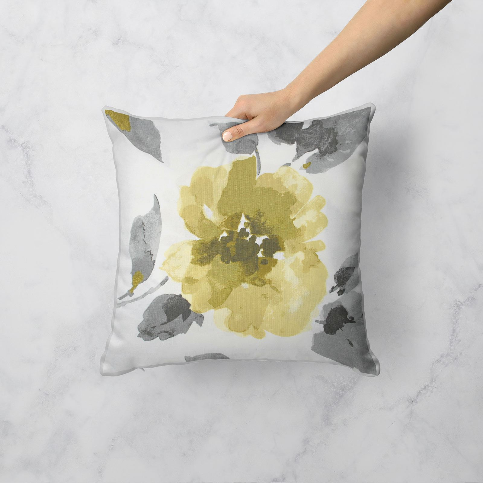 Grey-Ochre-Mustard-Cushion-Cover-Collection-17-034-18-034-Covers-Filled-Cushions thumbnail 18