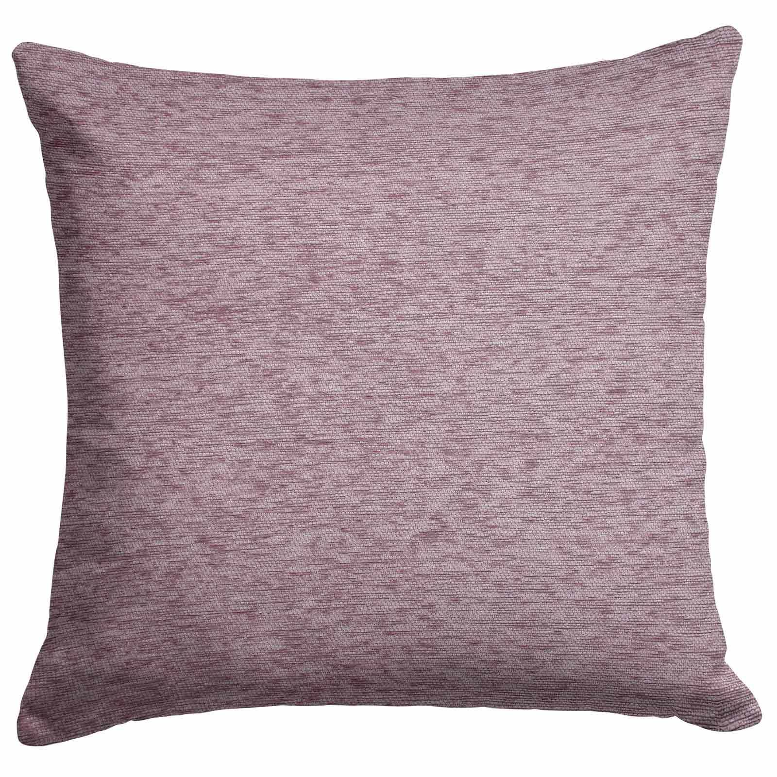 Set-of-2-Chenille-Cushion-Covers-Luxury-Plain-Cushions-Cover-Pairs-18-034-x-18-034 thumbnail 5
