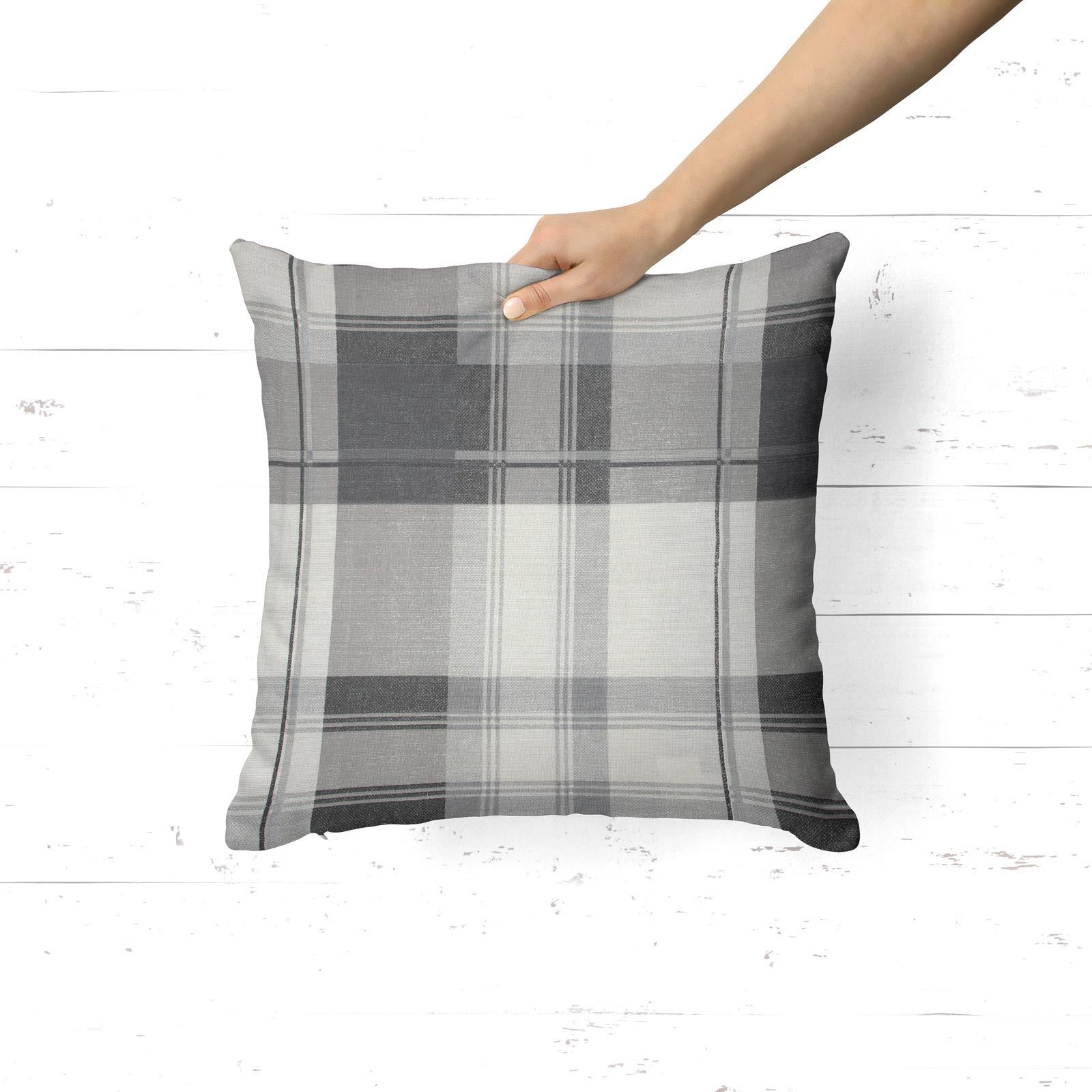 Grey-Ochre-Mustard-Cushion-Cover-Collection-17-034-18-034-Covers-Filled-Cushions thumbnail 30