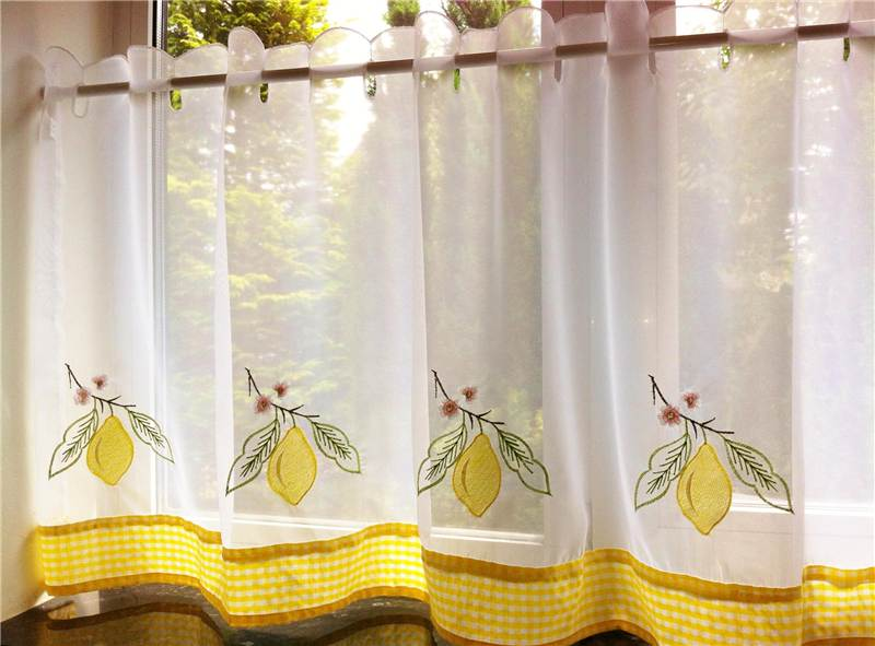 Voile Cafe Net Curtain Ready Made Voile Panels 59 Quot Wide