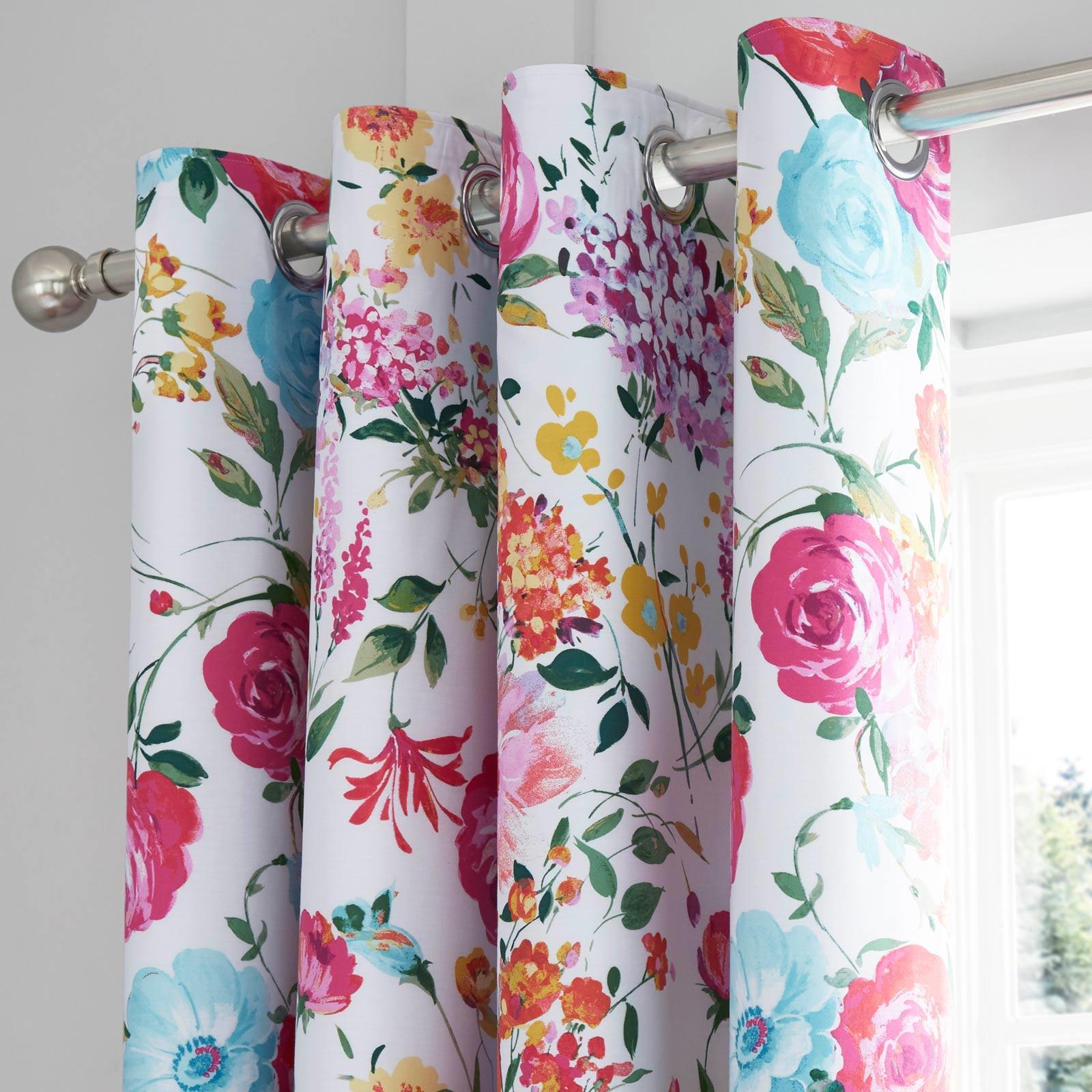 Catherine-Lansfield-Salisbury-Pink-cubierta-del-edredon-edredon-cubre-floral-de-conjuntos-de-cama miniatura 29