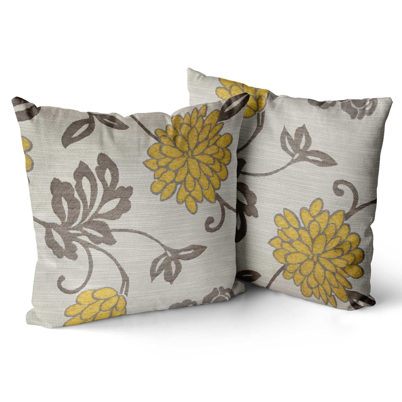 Set-of-4-Orla-Cushion-Covers-Reversible-Floral-Cushion-Cover-Collections thumbnail 8