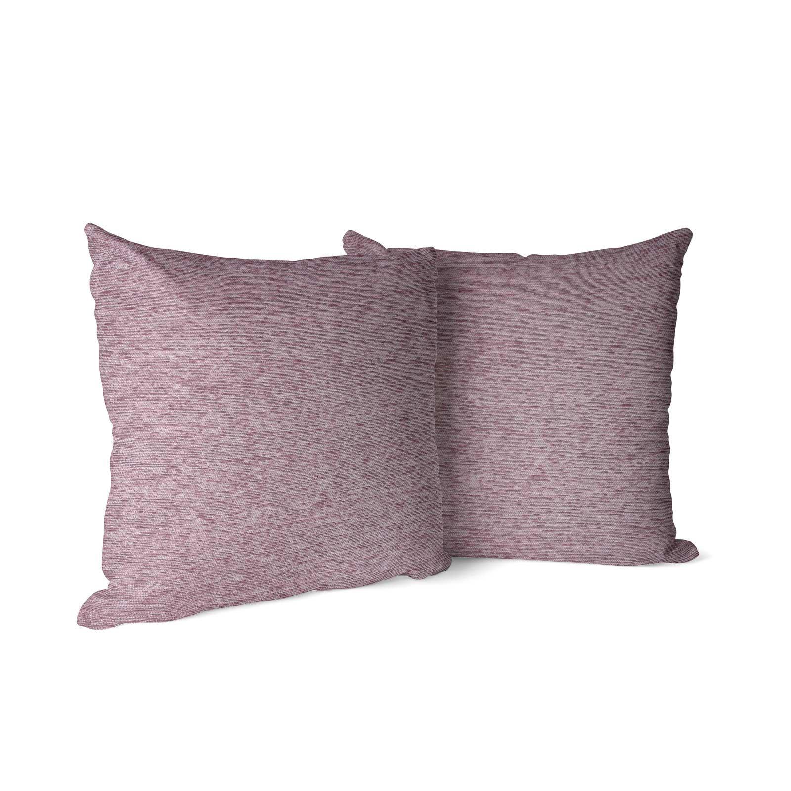 Set-of-2-Chenille-Cushion-Covers-Luxury-Plain-Cushions-Cover-Pairs-18-034-x-18-034 thumbnail 4
