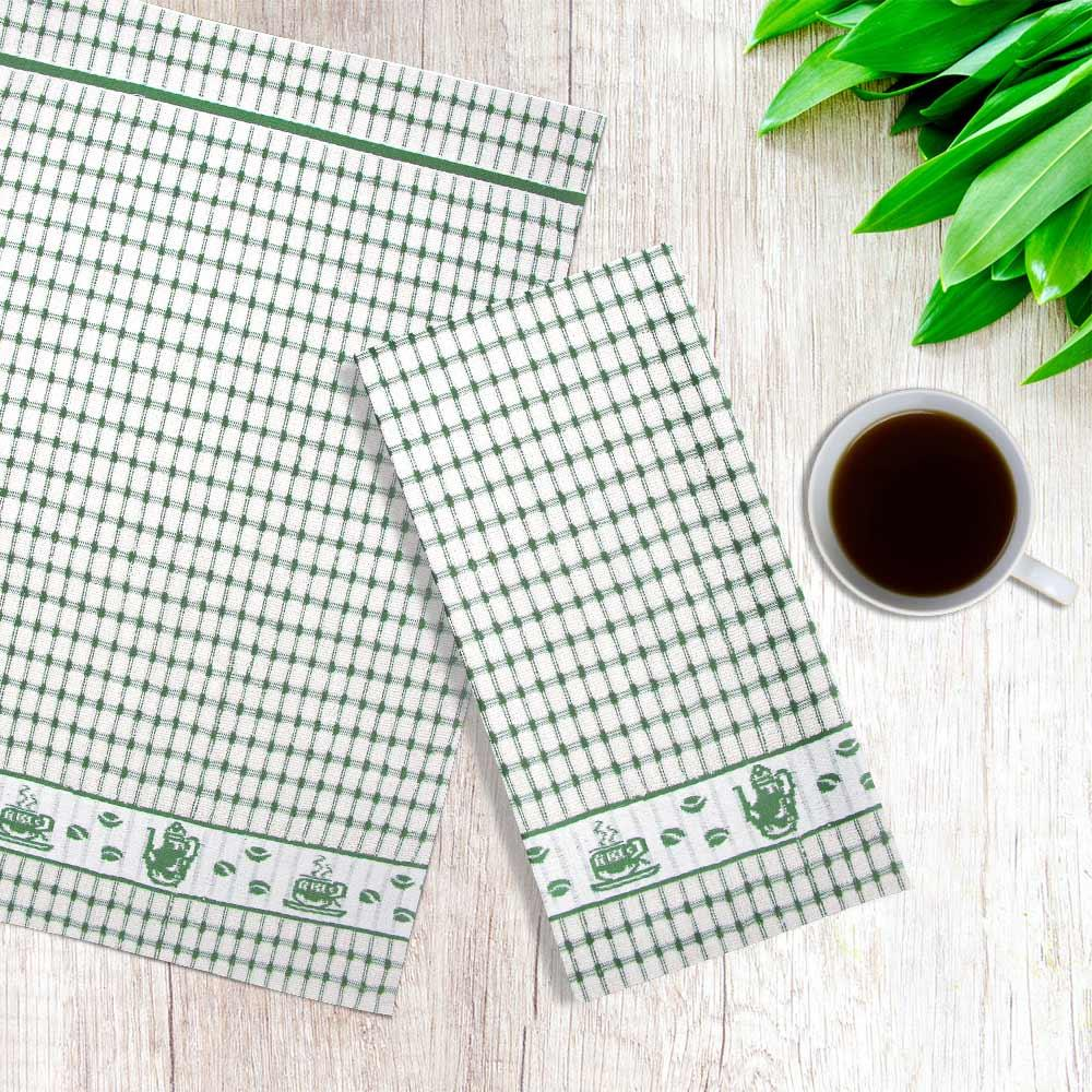 Packs-of-2-4-6-12-Tea-Towels-100-Cotton-Terry-Kitchen-Dish-Drying-Towel-Sets thumbnail 25