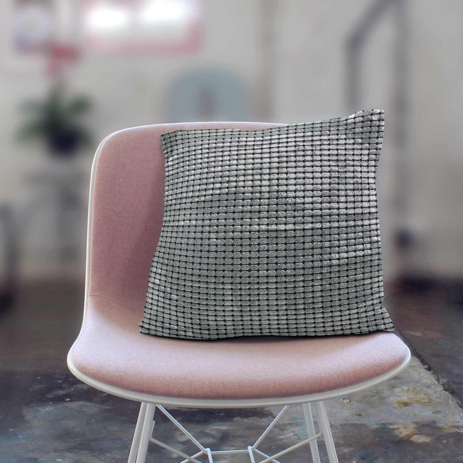 Impresion-de-lamina-metalica-Moderno-Funda-De-Cojin-Almohadon-cubiertas-de-cojines-18-034-X-18-034 miniatura 25
