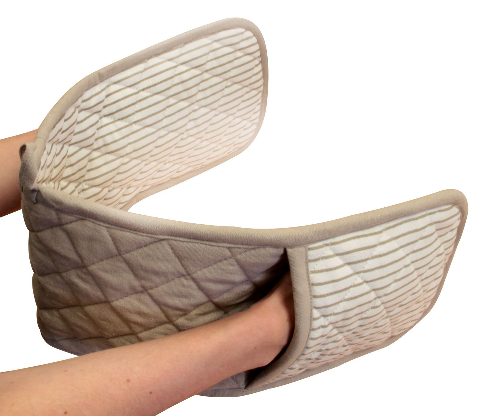 Four-Double-Gants-100-Resistant-a-La-Chaleur-Coton-Rembourre-maniques miniature 38