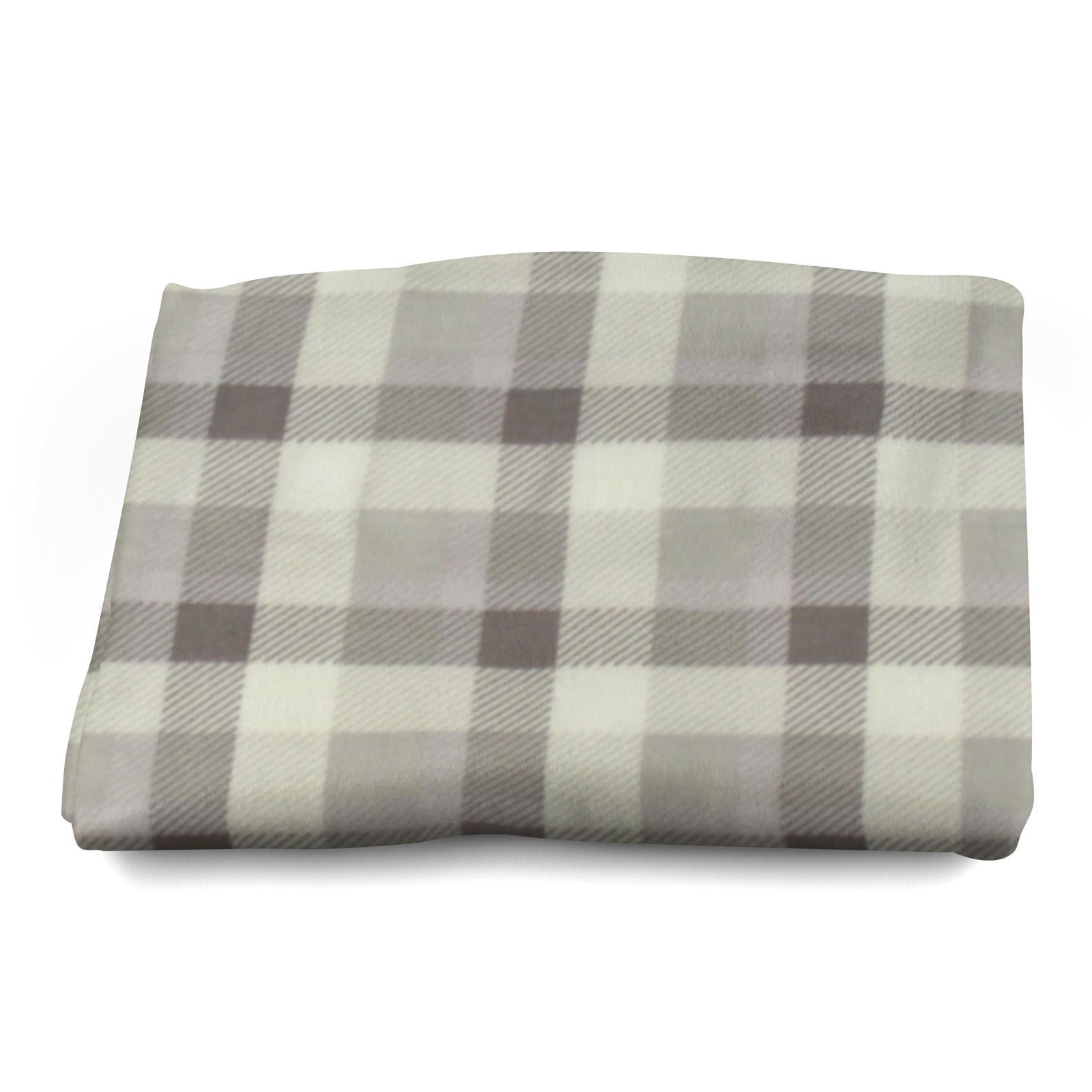 Sofa-de-verificacion-de-tartan-polar-mantas-polar-silla-acogedor-lanza-Manta-127cm-X-152cm miniatura 22