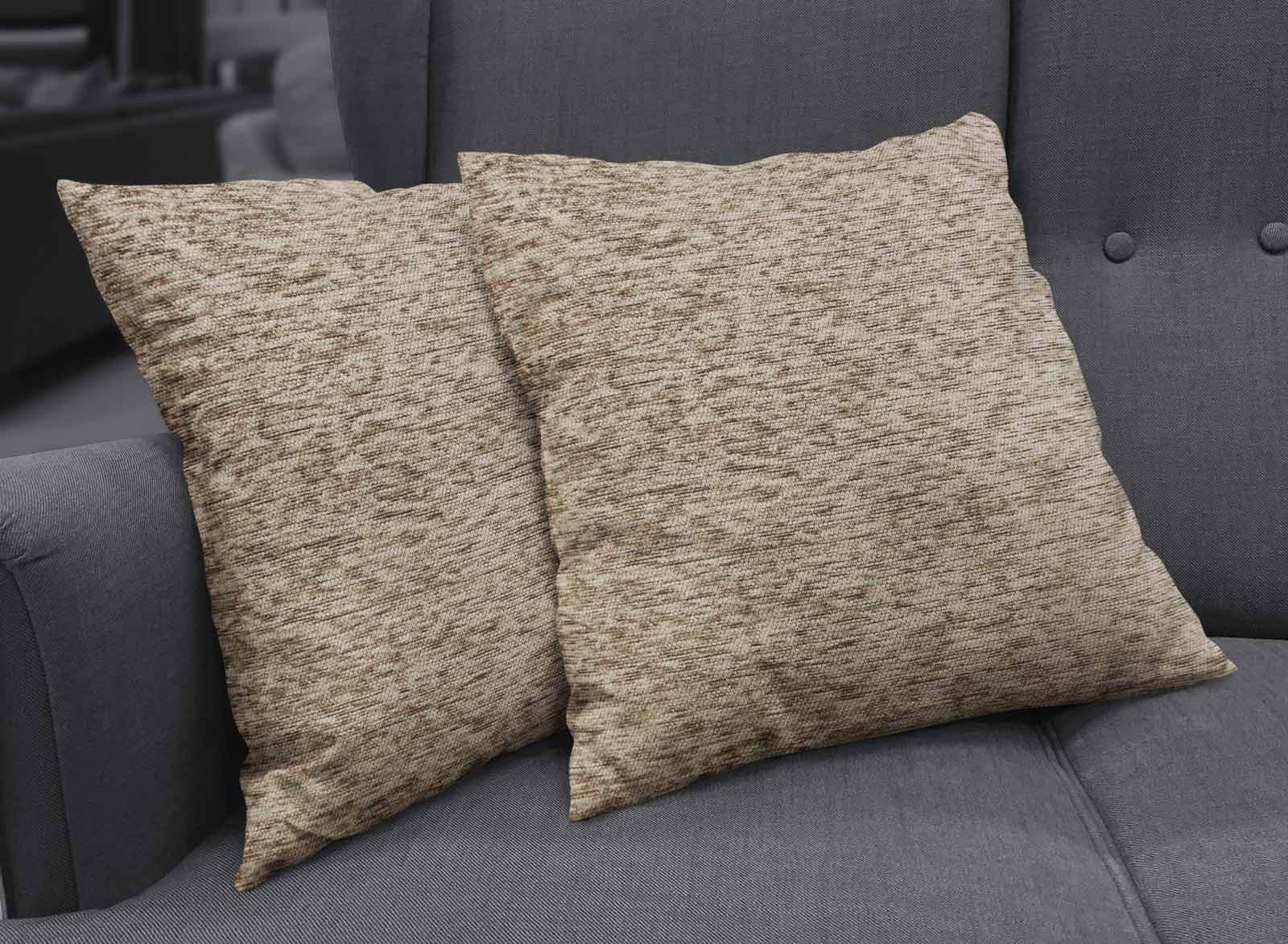Set-of-2-Chenille-Cushion-Covers-Luxury-Plain-Cushions-Cover-Pairs-18-034-x-18-034 thumbnail 43