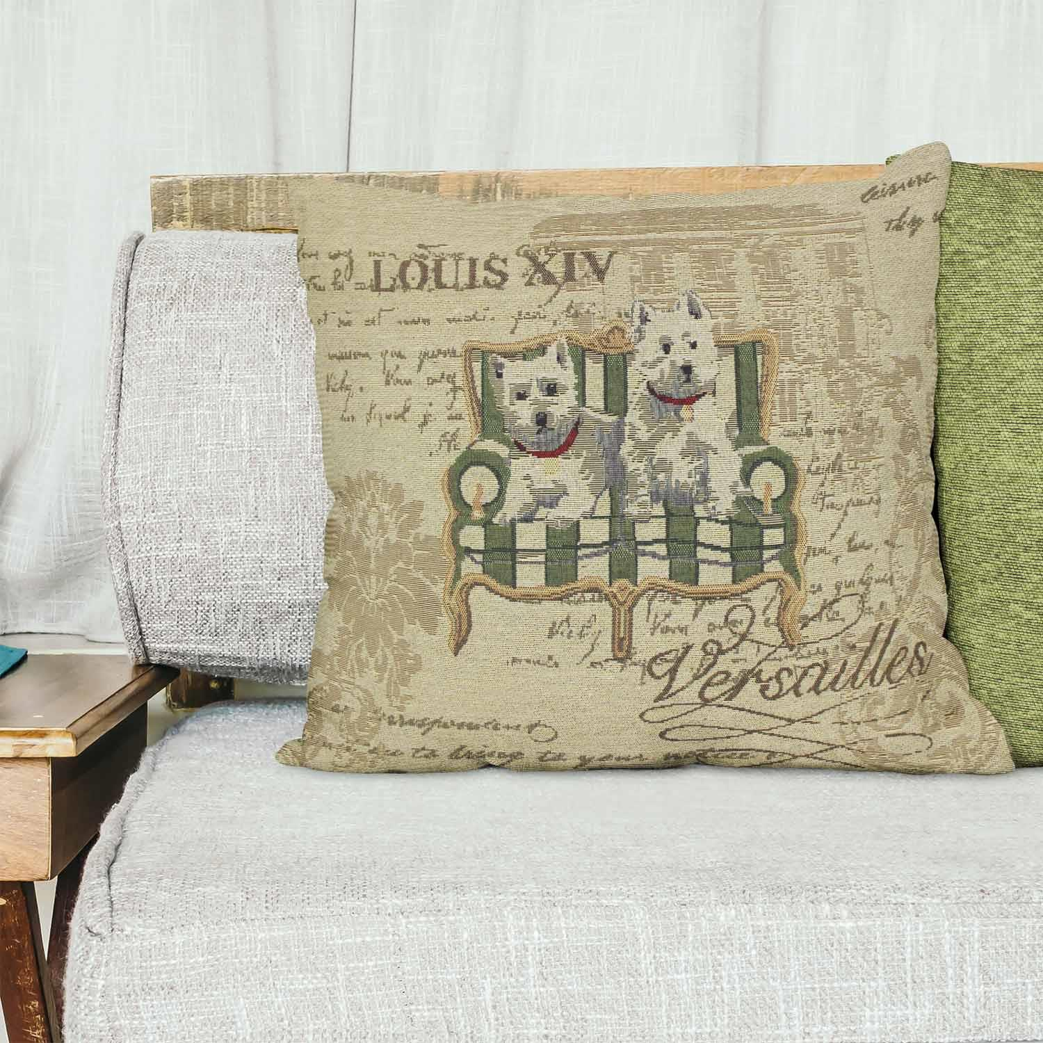 Tapestry-Cushion-Covers-Vintage-Pillow-Cover-Collection-18-034-45cm-Filled-Cushions thumbnail 228