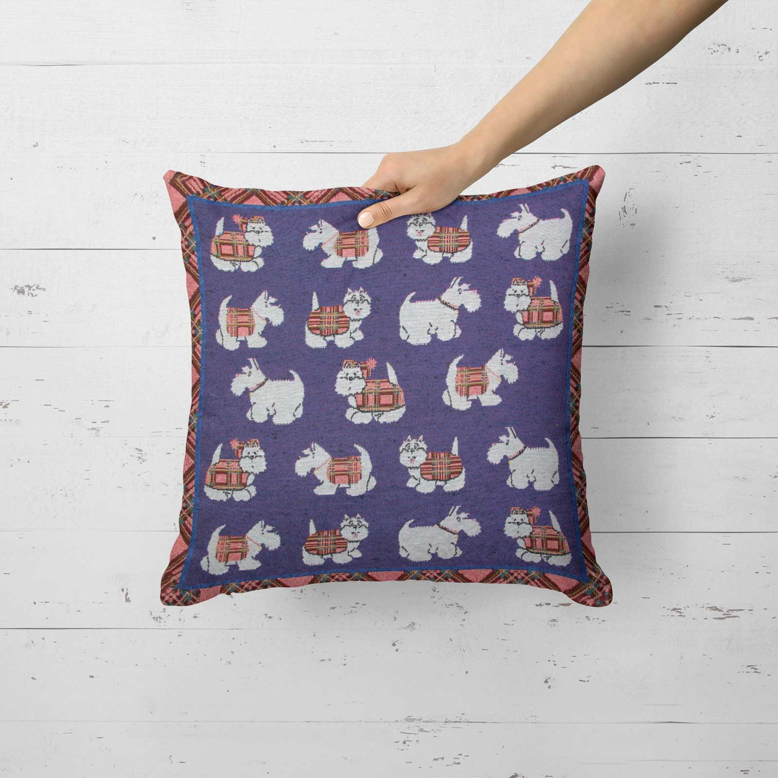 Tapestry-Cushion-Covers-Vintage-Pillow-Cover-Collection-18-034-45cm-Filled-Cushions thumbnail 237