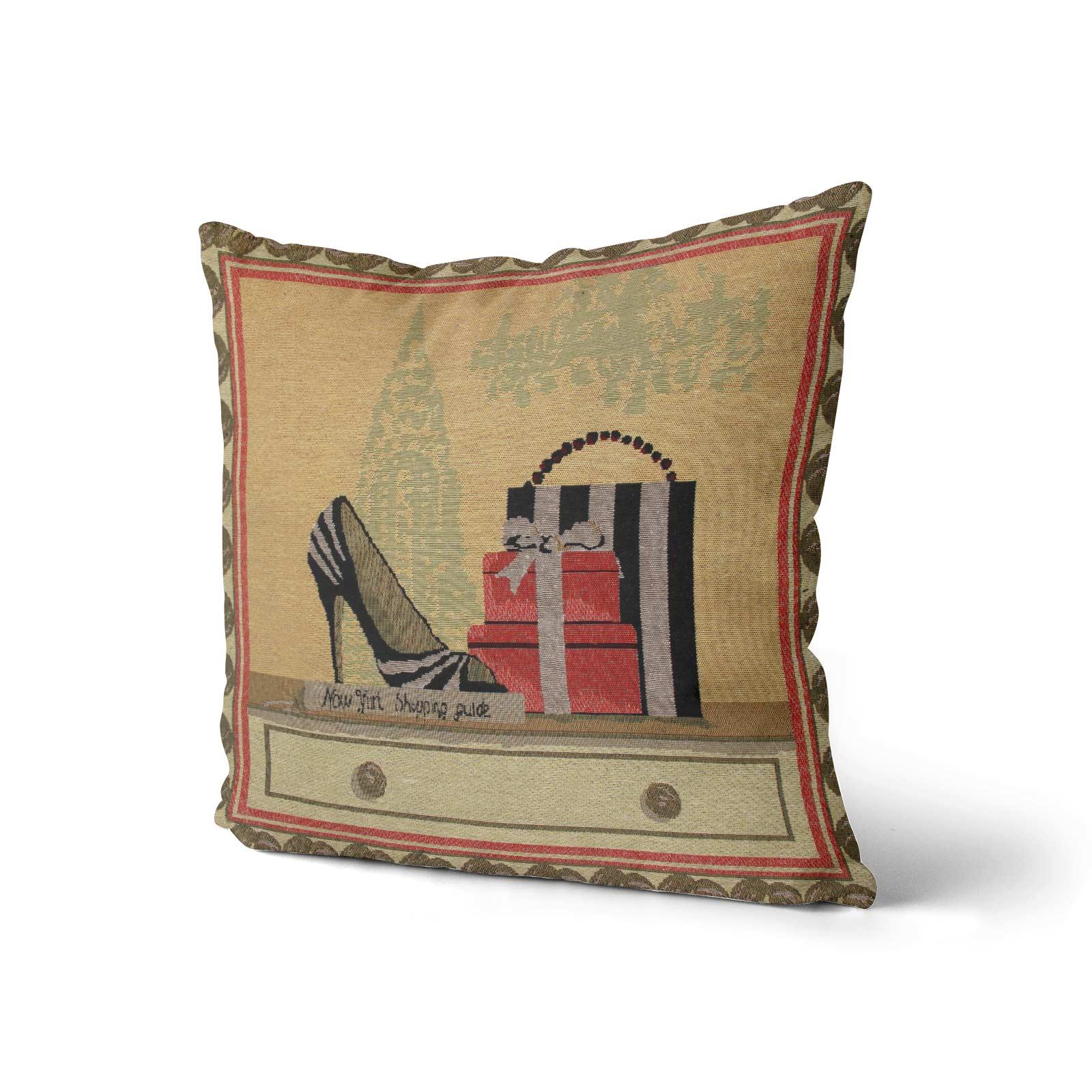 Tapestry-Cushion-Covers-Vintage-Pillow-Cover-Collection-18-034-45cm-Filled-Cushions thumbnail 145