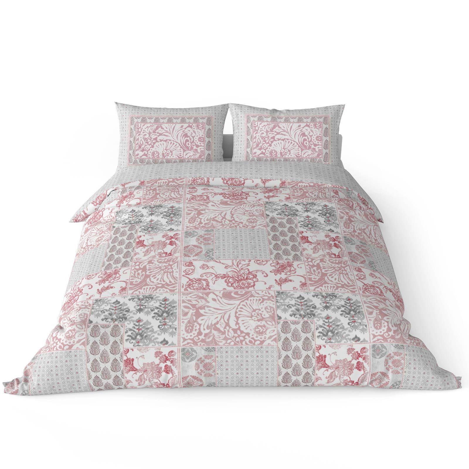 Cubierta-Edredon-Rosa-Blush-Rose-Impreso-juego-De-Edredon-Conjuntos-de-Cama-cubre-Jacquard miniatura 46