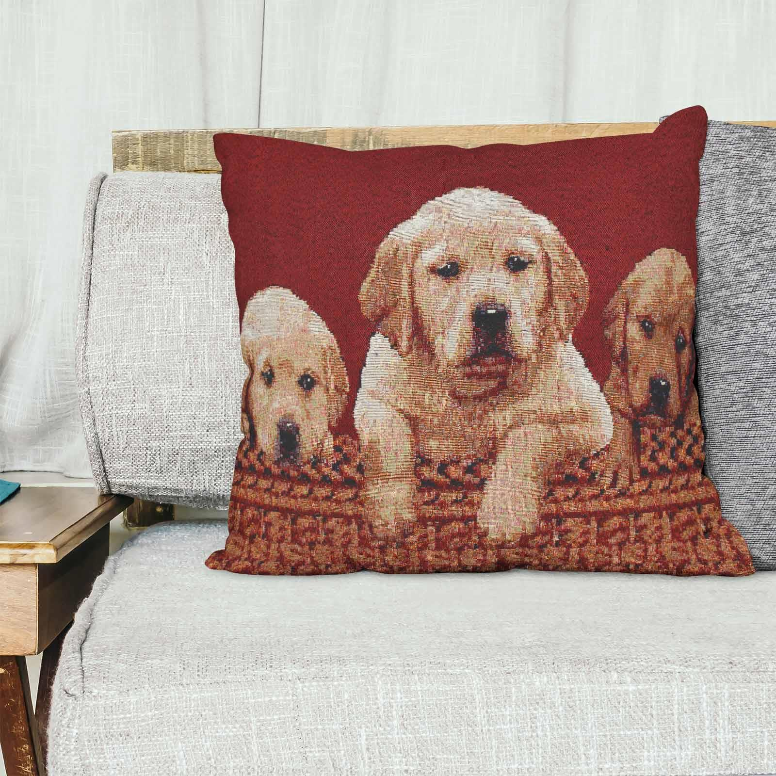 Tapestry-Cushion-Covers-Vintage-Pillow-Cover-Collection-18-034-45cm-Filled-Cushions thumbnail 106