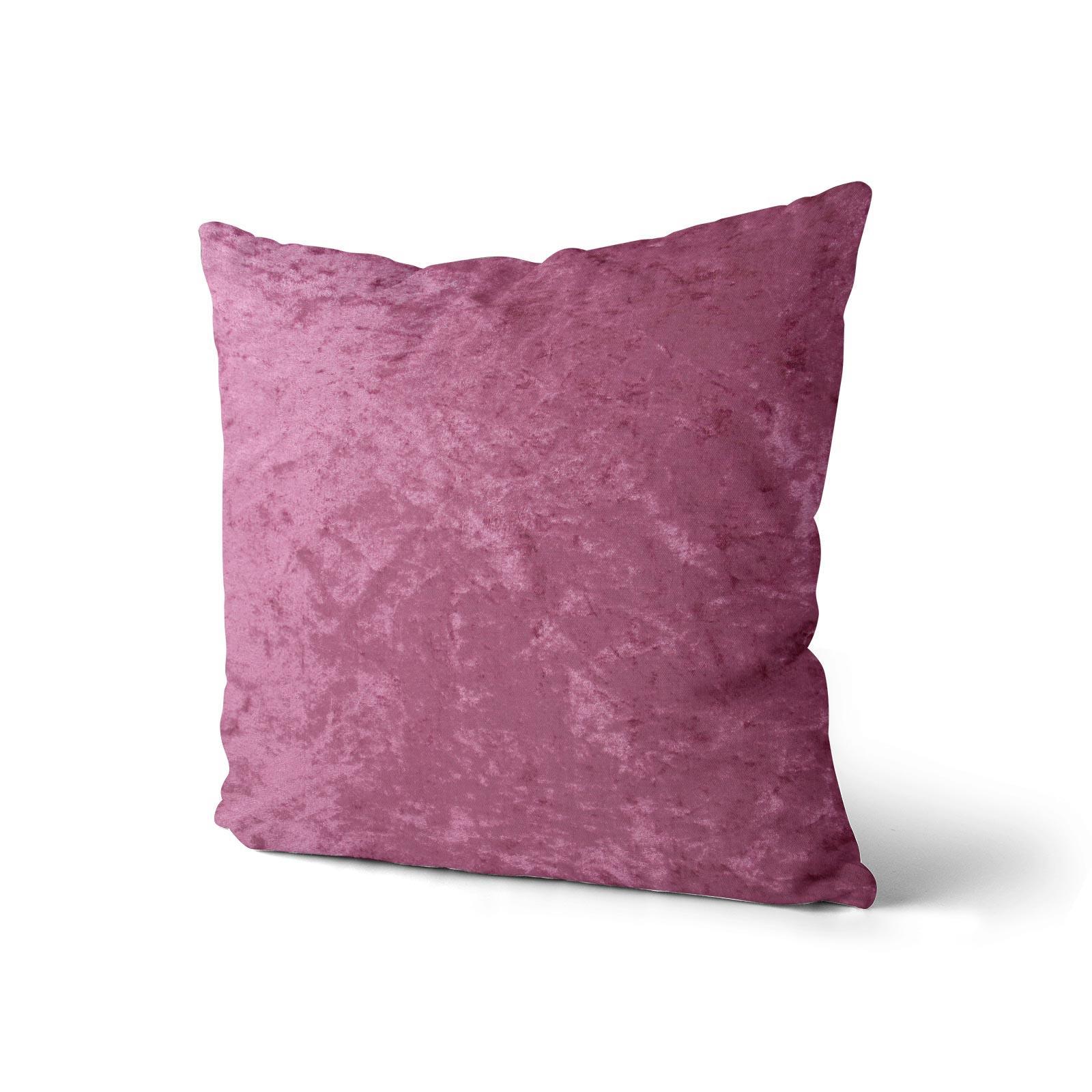 Cuscino-di-velluto-schiacciato-copre-GLAM-Tinta-Unita-Copricuscino-18-034-x-18-034-45cm-x-45cm miniatura 41