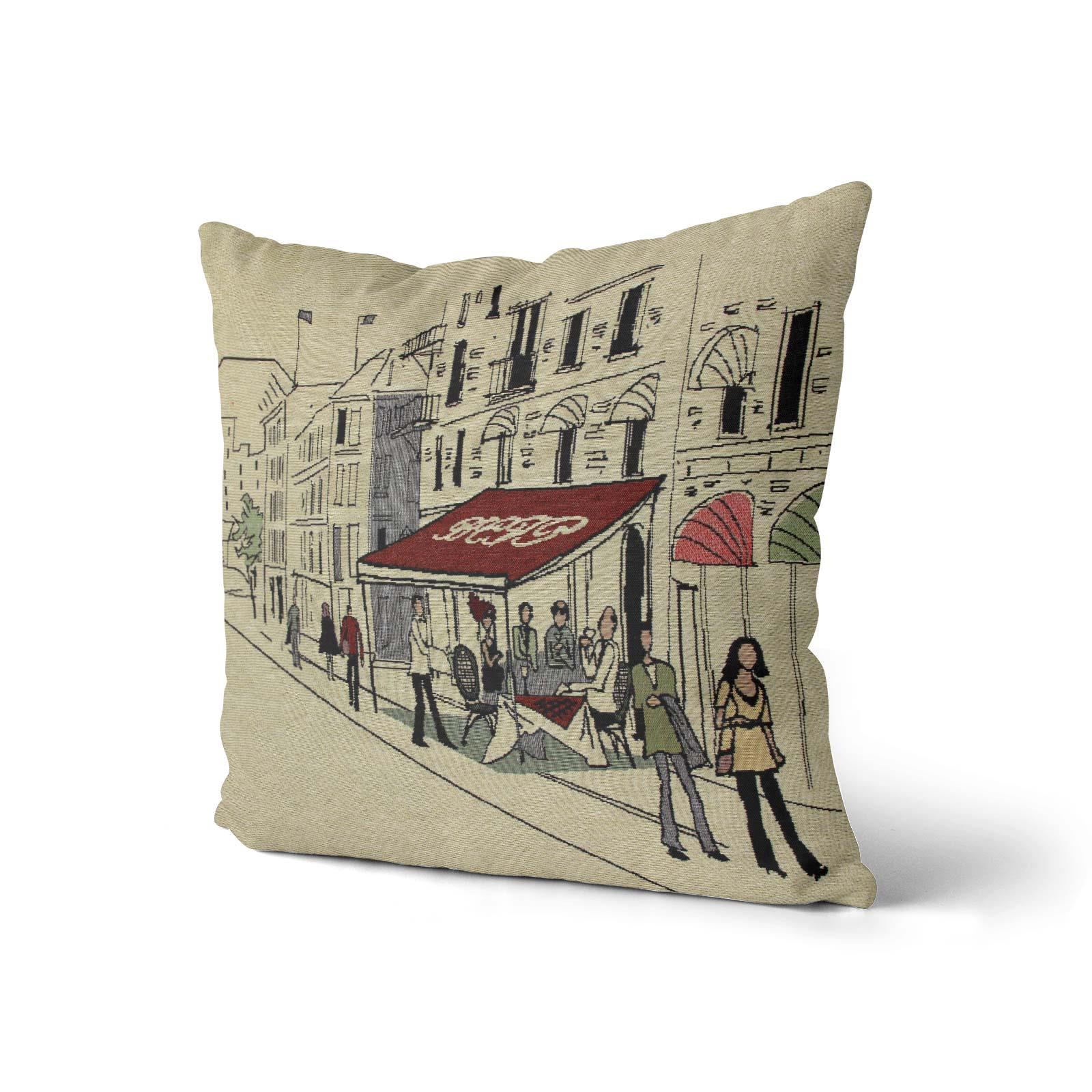 Tapestry-Cushion-Covers-Vintage-Pillow-Cover-Collection-18-034-45cm-Filled-Cushions thumbnail 201