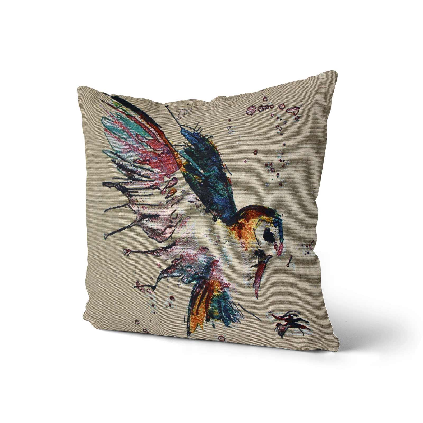 Tapestry-Cushion-Covers-Vintage-Pillow-Cover-Collection-18-034-45cm-Filled-Cushions thumbnail 4